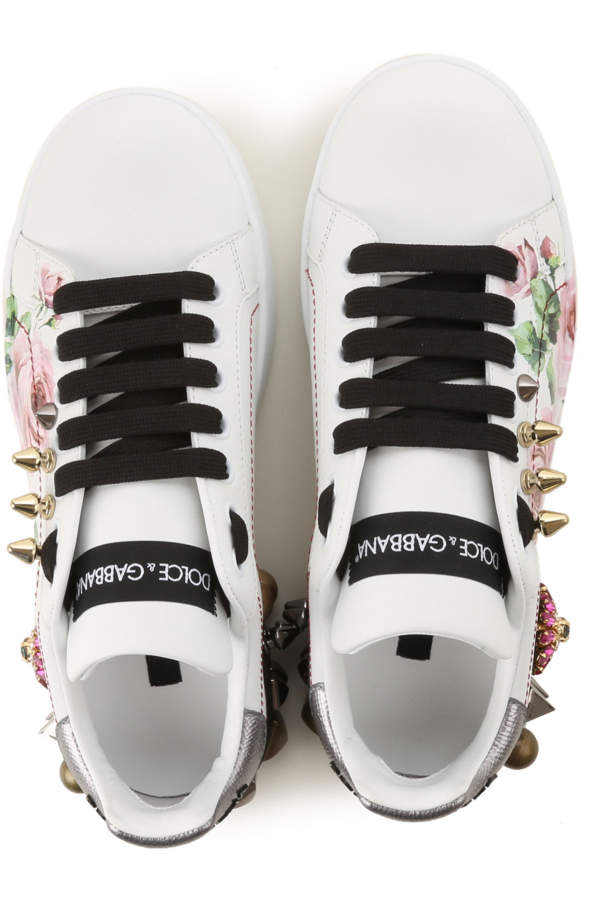 Primavera verano Plata Para Dolce 2019 Gabbana Blanco amp; Mujer Zapatos waxXPAq