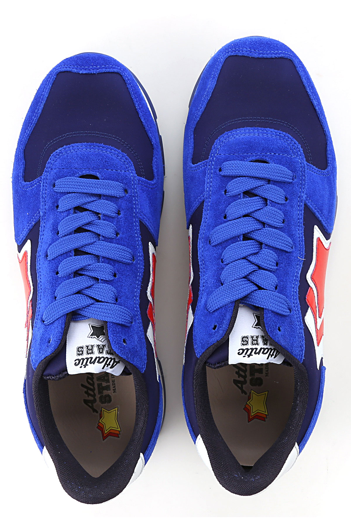 Atlantic verano Rojo Para Zapatos Bluette 2019 Stars nbsp;blanco Primavera Hombres PXwrP8q