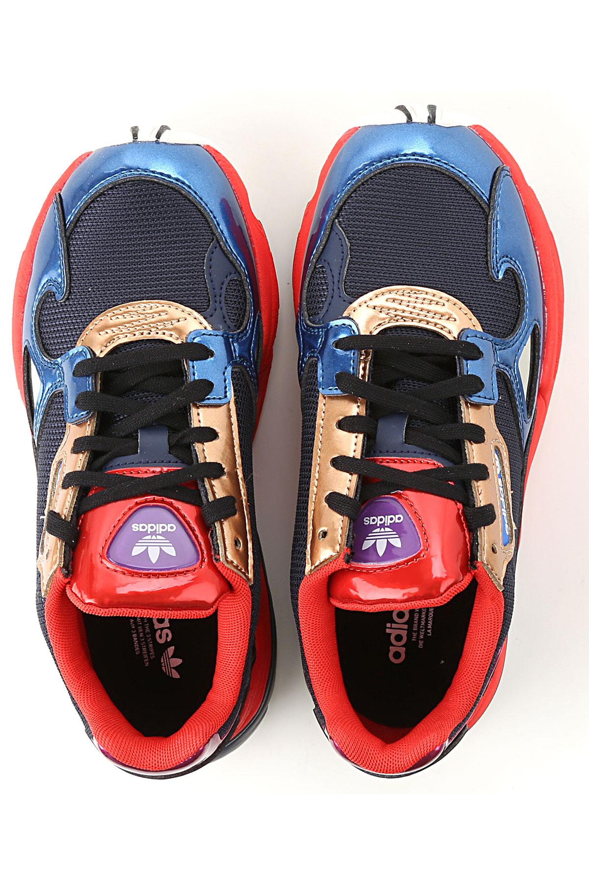 5342b4047 2019 Marina Rojo Adidas Para Zapatos Primavera verano Mujer qZzYawX
