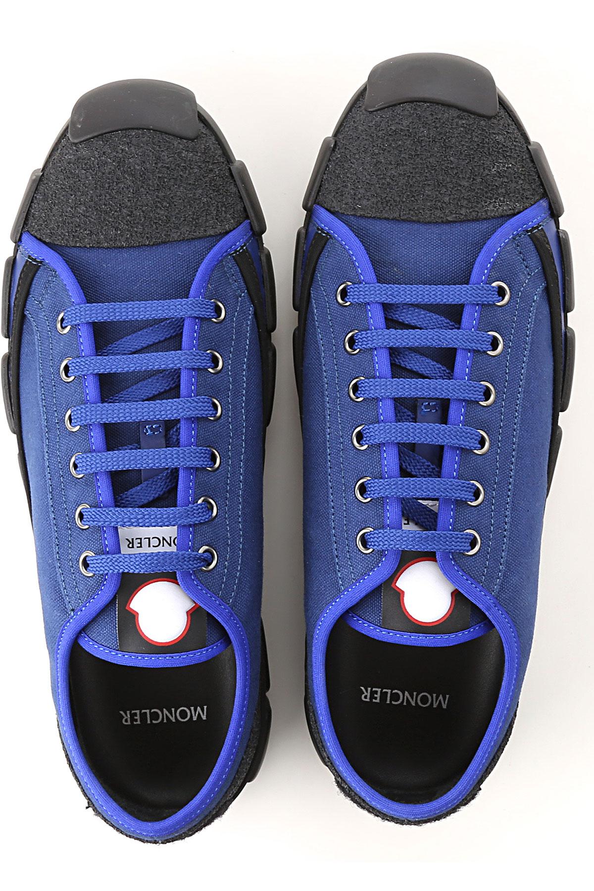 Bluette Negro verano Primavera Hombres Para Moncler Zapatos 2019 HxwpYZnzqS
