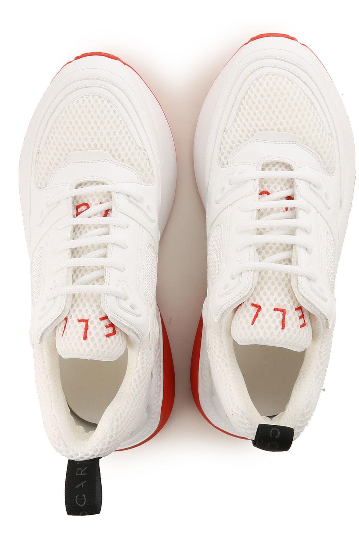 Hombres Rojo 2019 Stella verano Blanco Zapatos Mccartney Primavera Para T88qtPgw