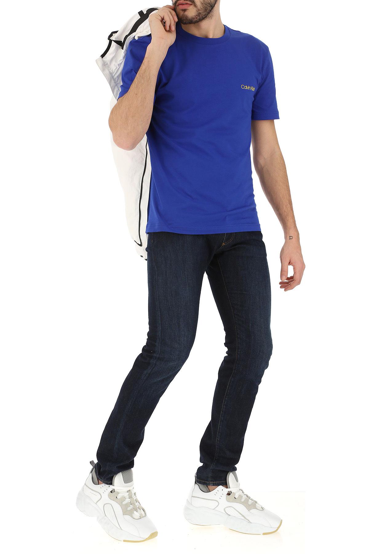 2019 Ropa Calvin Para Amarillo verano Primavera Azul Hombres Klein wxHgHYqFz
