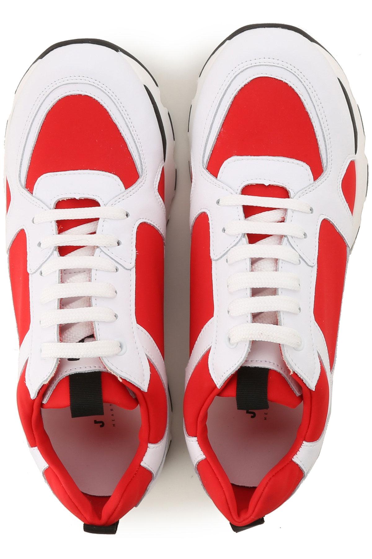 Zapatos 2019 verano Rojo Primavera Blanco Sanders Mujer Para Joshua zxAgvA