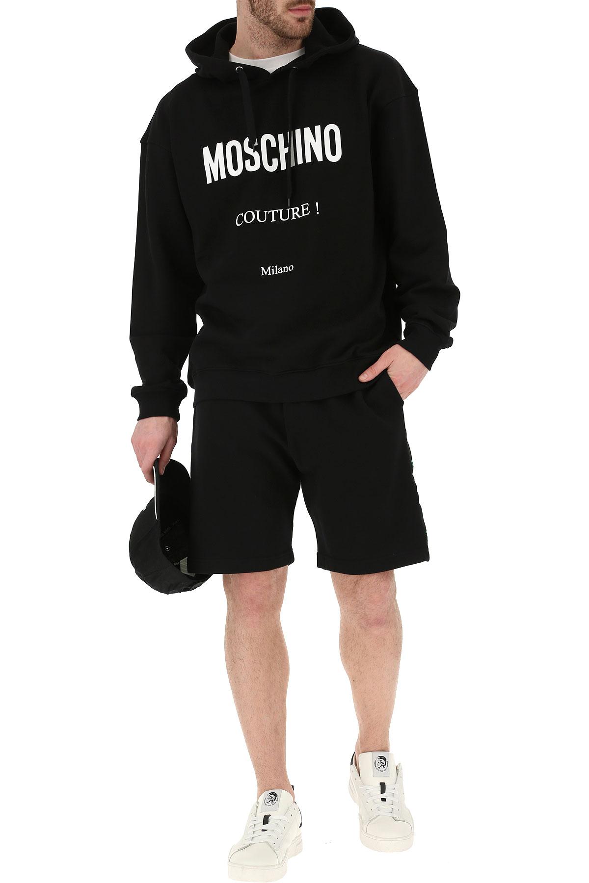 2019 Hombres Primavera Para Moschino Blanco verano Negro Ropa EtX6F