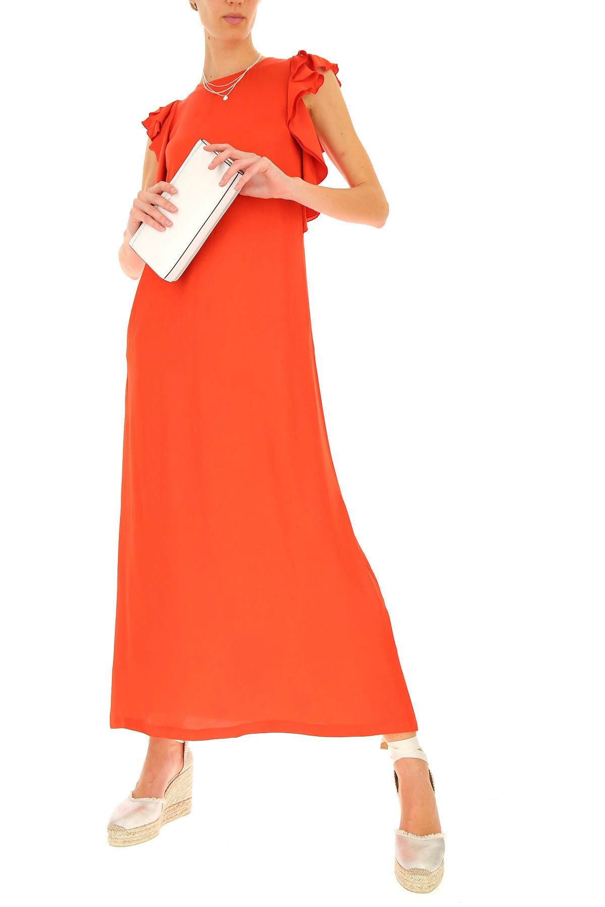 verano nbsp; 2019 Semicouture Para Ropa Rojo Primavera Mujer wTqqf01IB