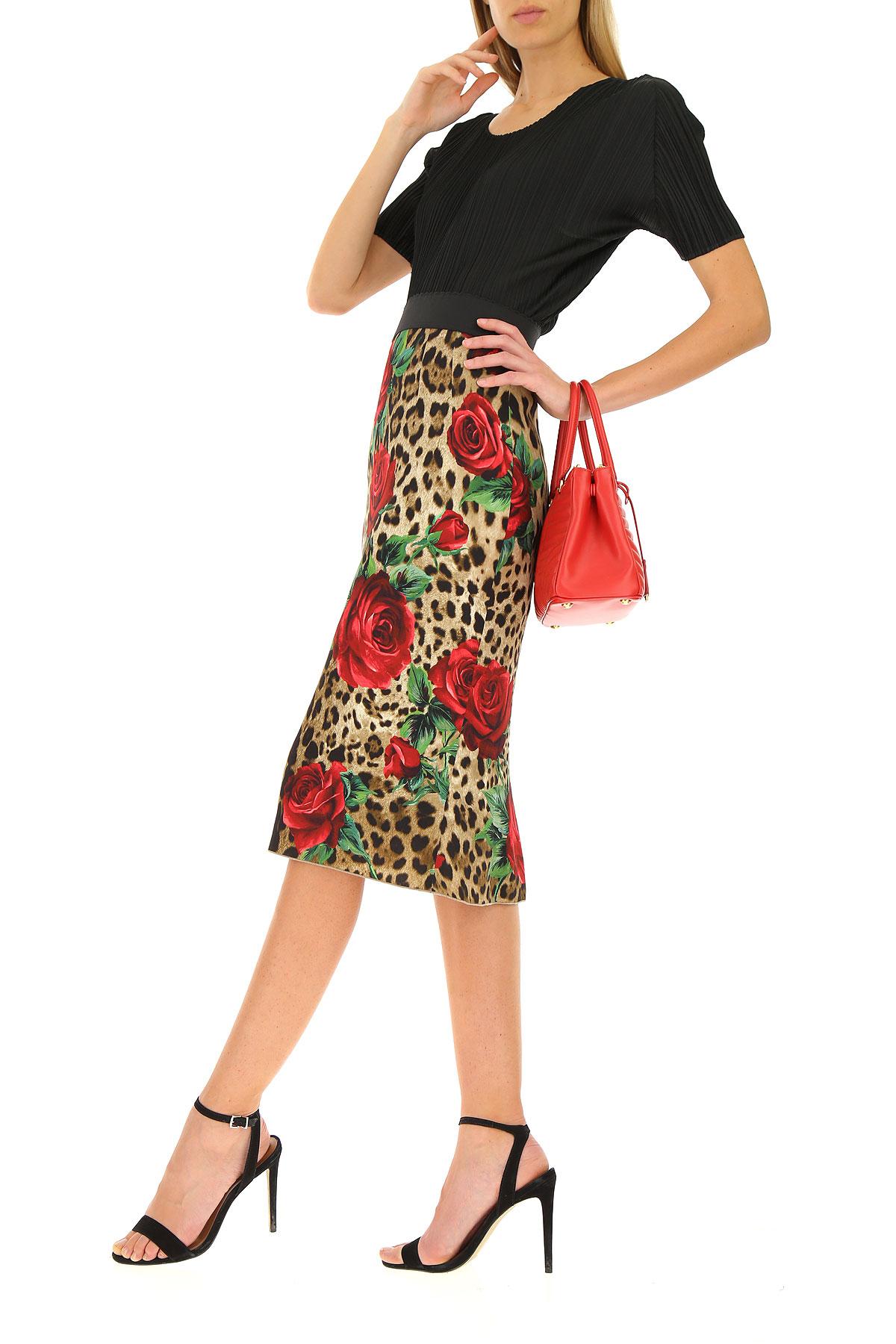 Primavera Gabbana Rojo nbsp;verde amp; 2019 Mujer Dolce Ropa Leopardo verano Para nq1BXAxf