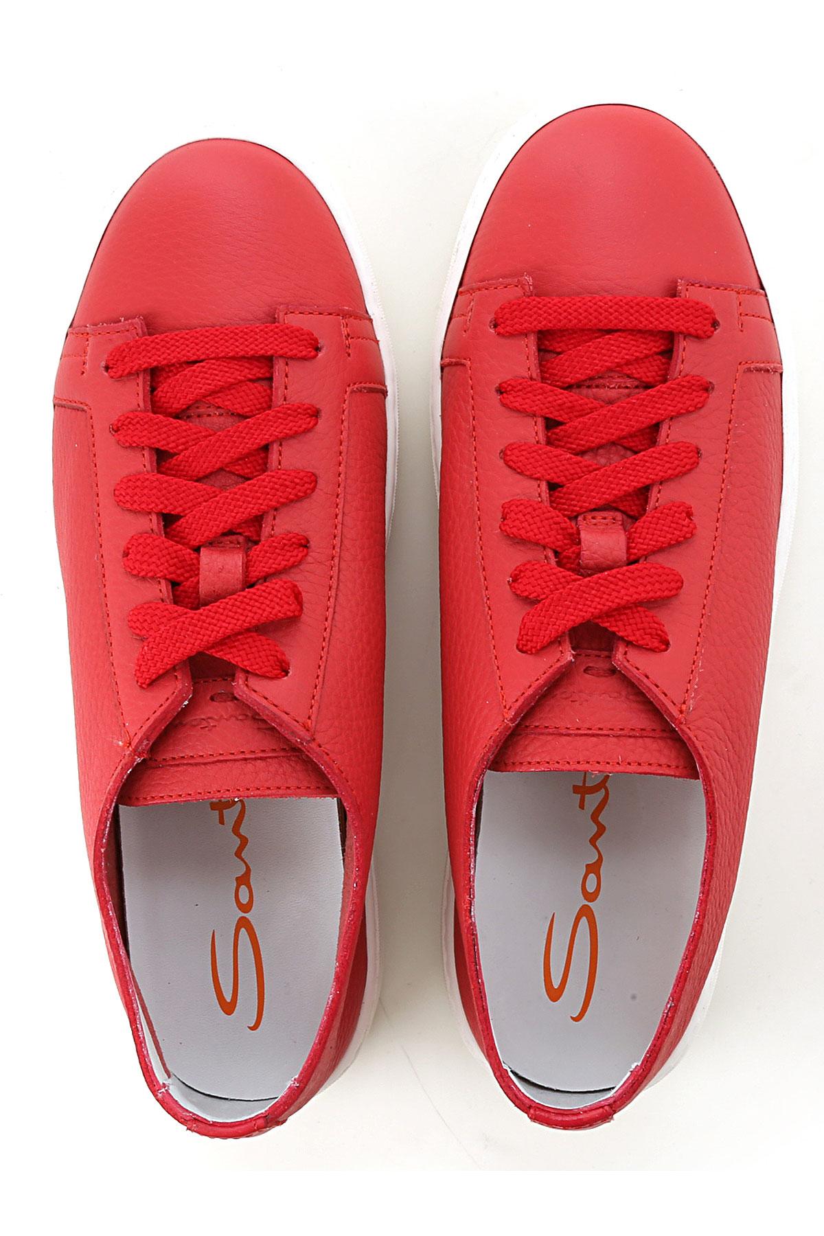 Zapatos Santoni 2019 nbsp; Mujer Para Primavera Rojo verano AWUfqUR1