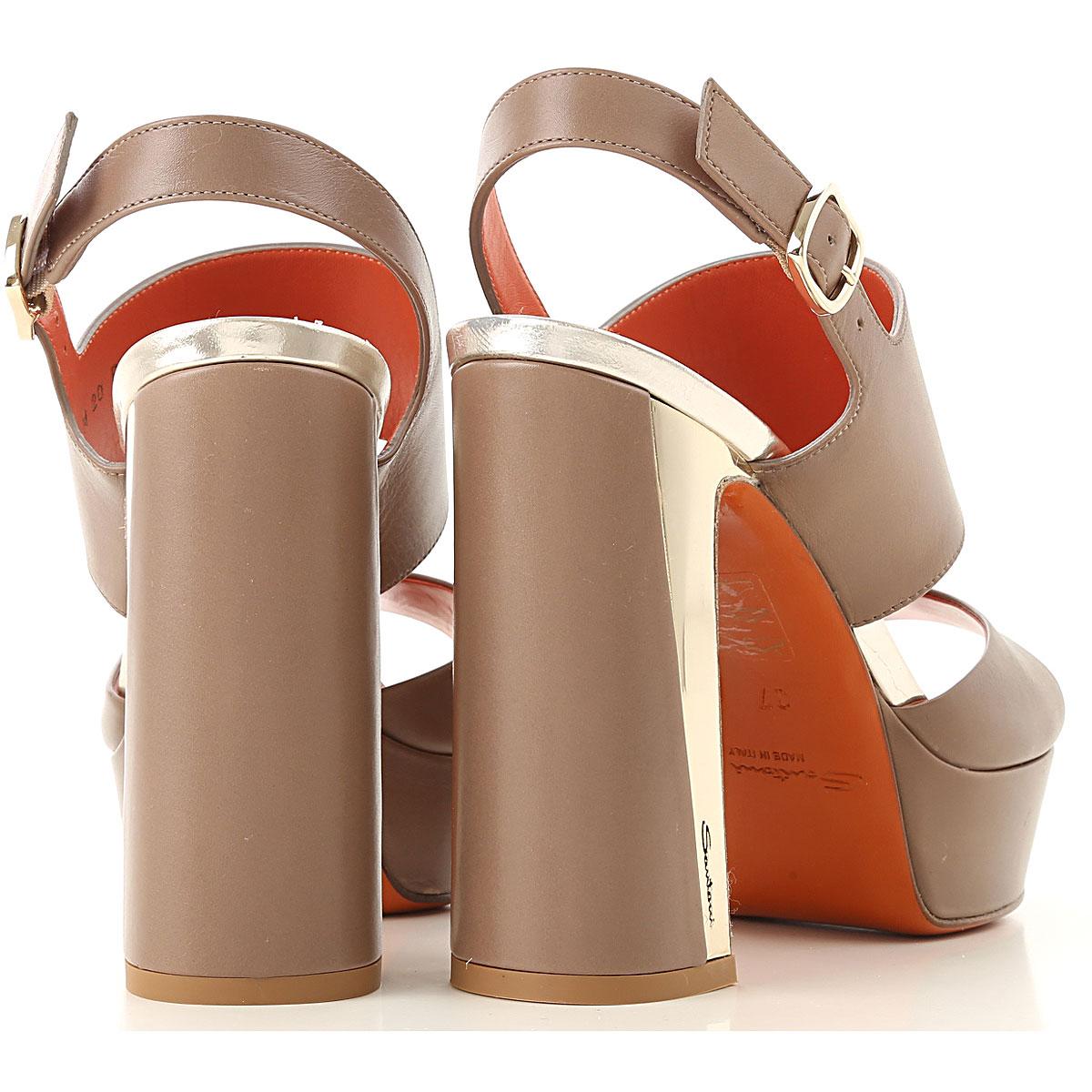 Primavera Avellana 2019 Mujer verano Santoni Platino Para Zapatos qgOgvt