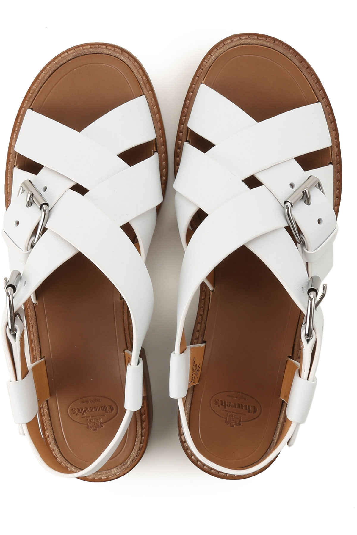 Primavera Zapatos verano Church's Para Mujer 2019 Blanco nbsp; q1xF6HFwt