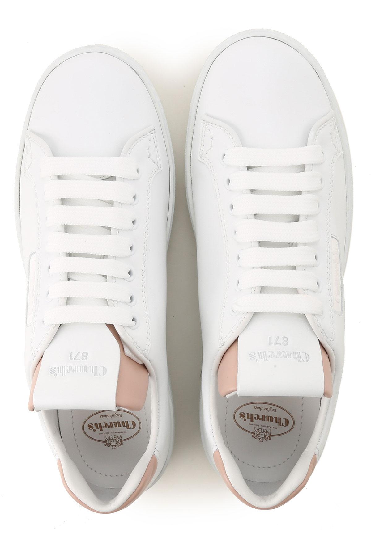 Church's 2019 Rosa Polvo Blanco Primavera Zapatos Para Mujer verano xqSPwF