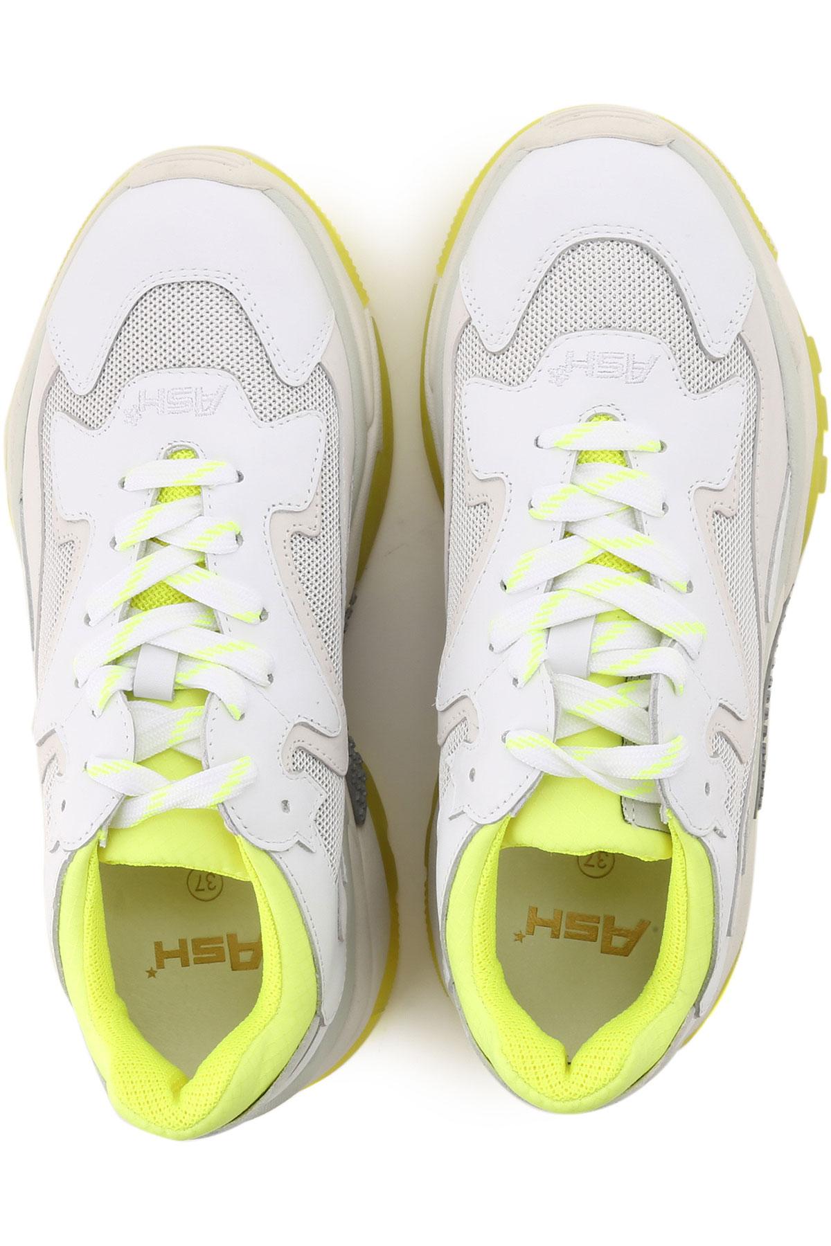 Zapatos Mujer Ash Para Amarillo 2019 verano Fluo Primavera Blanco T6wdZxF