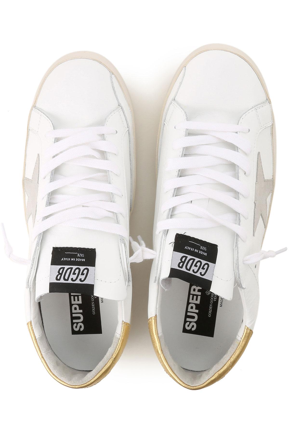 Para Primavera verano Golden Hombres 2019 Blanco Zapatos Oro dorado Goose 4FqpE