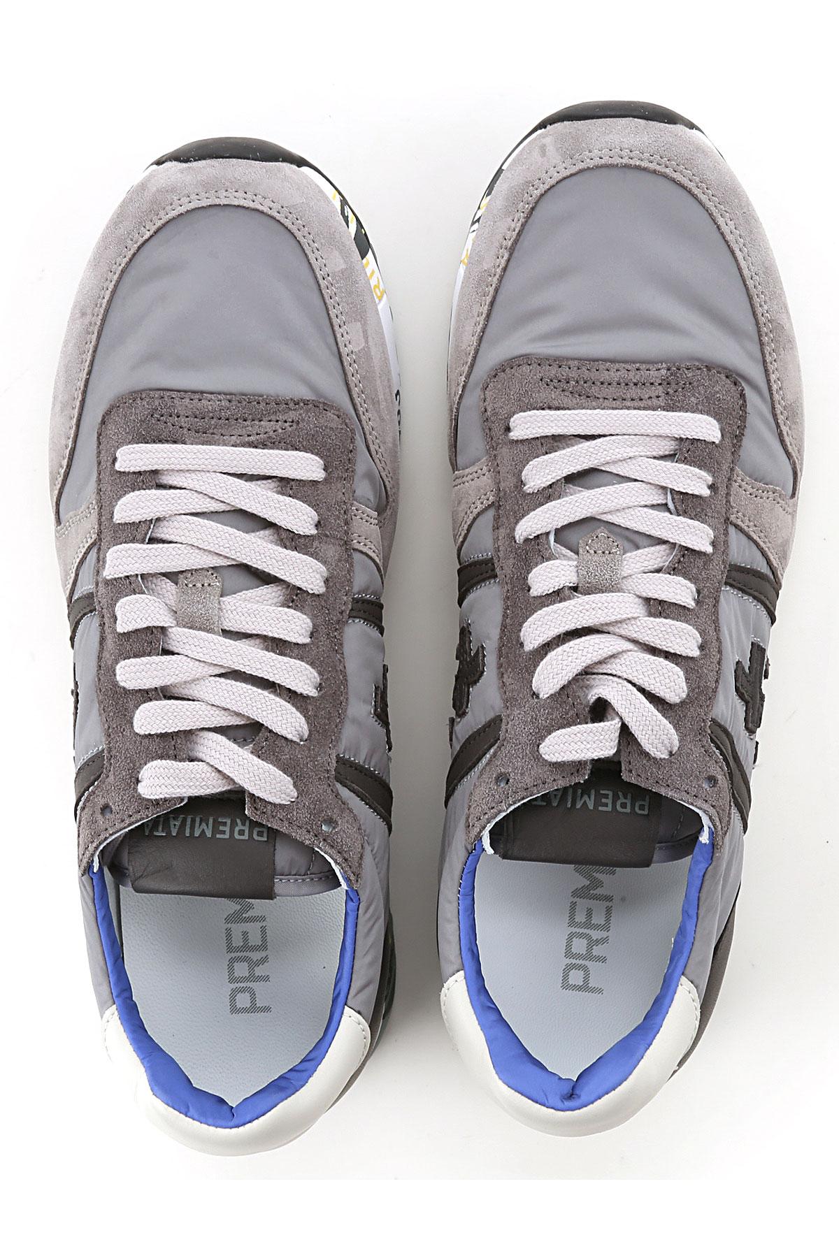 Hombres 2019 Para Zapatos Primavera Sucio Gris nbsp;blanco verano Premiata Antracita FCqEw4