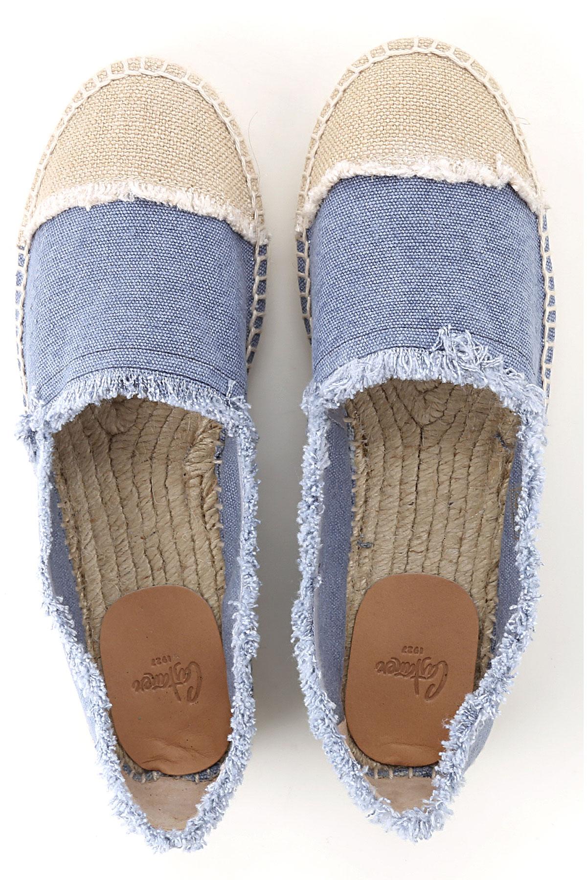 verano Natural Para Primavera Vaquero 2019 Mujer Zapatos Castaner gITwxq0g