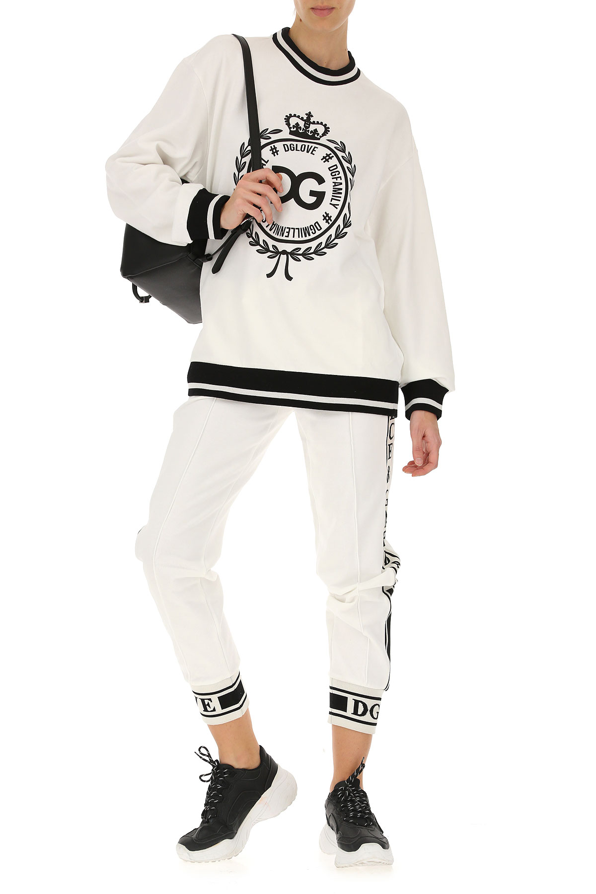 Blanco Gabbana Para Dolce amp; Negro Ropa Mujer 2019 Primavera verano q5S8aSnw
