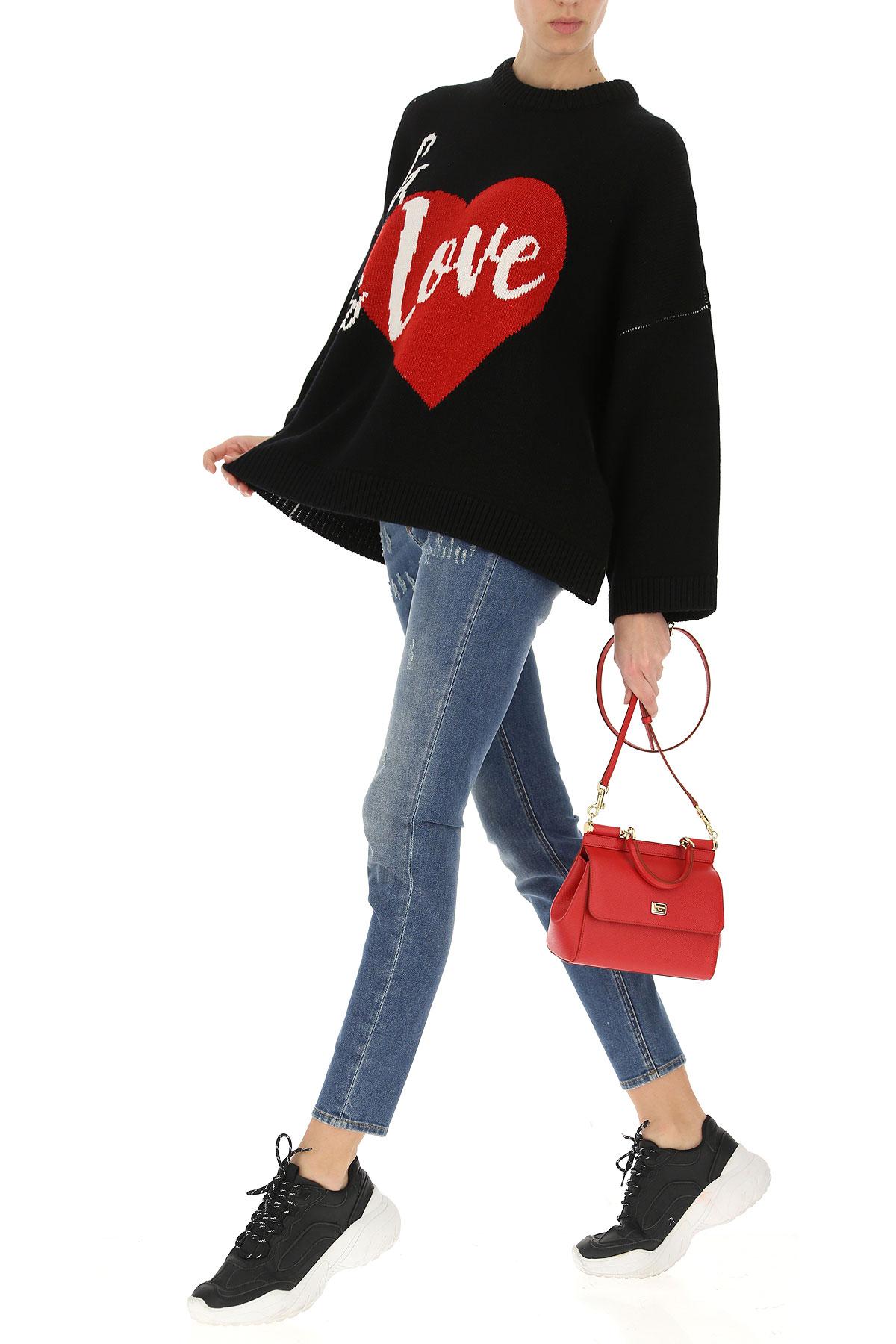 Primavera Ropa Dolce 2019 verano amp; Gabbana Negro Para Rojo Mujer CfWW6Awq