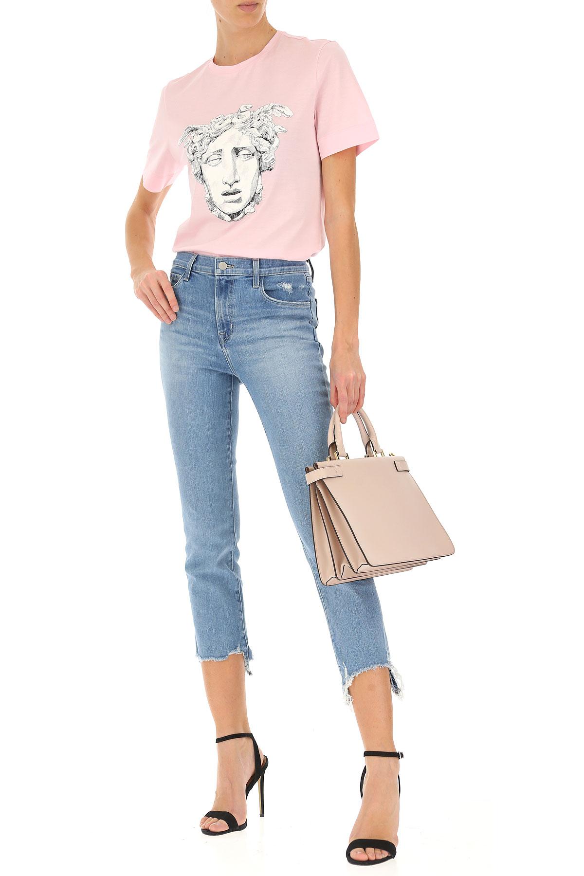 Mujer verano Ropa Versace Para Rosa Primavera Blanco nbsp;negro 2019 ZESWIq