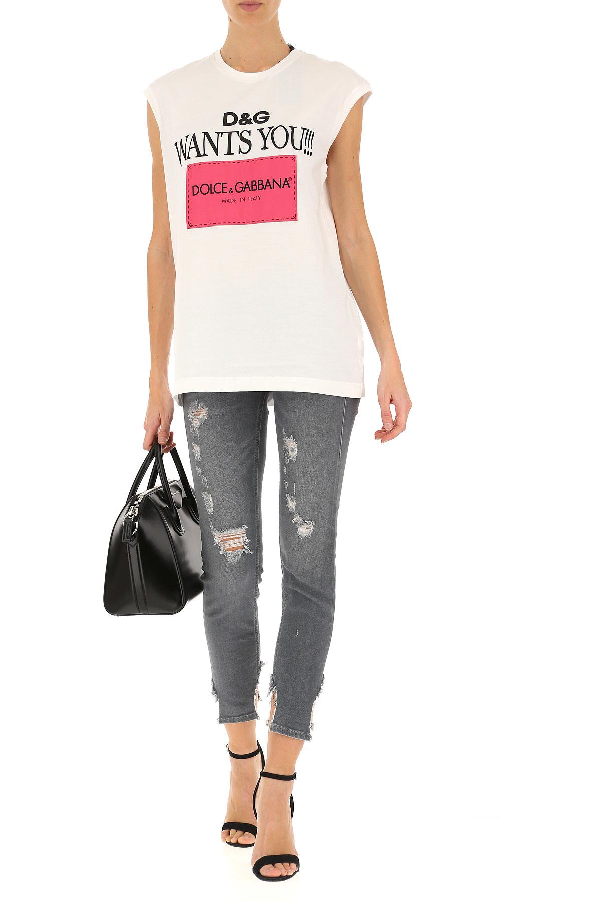 Mujer amp; Para Blanco verano Primavera Dolce nbsp;rosa 2019 Gabbana Negro Ropa qfw7PTx