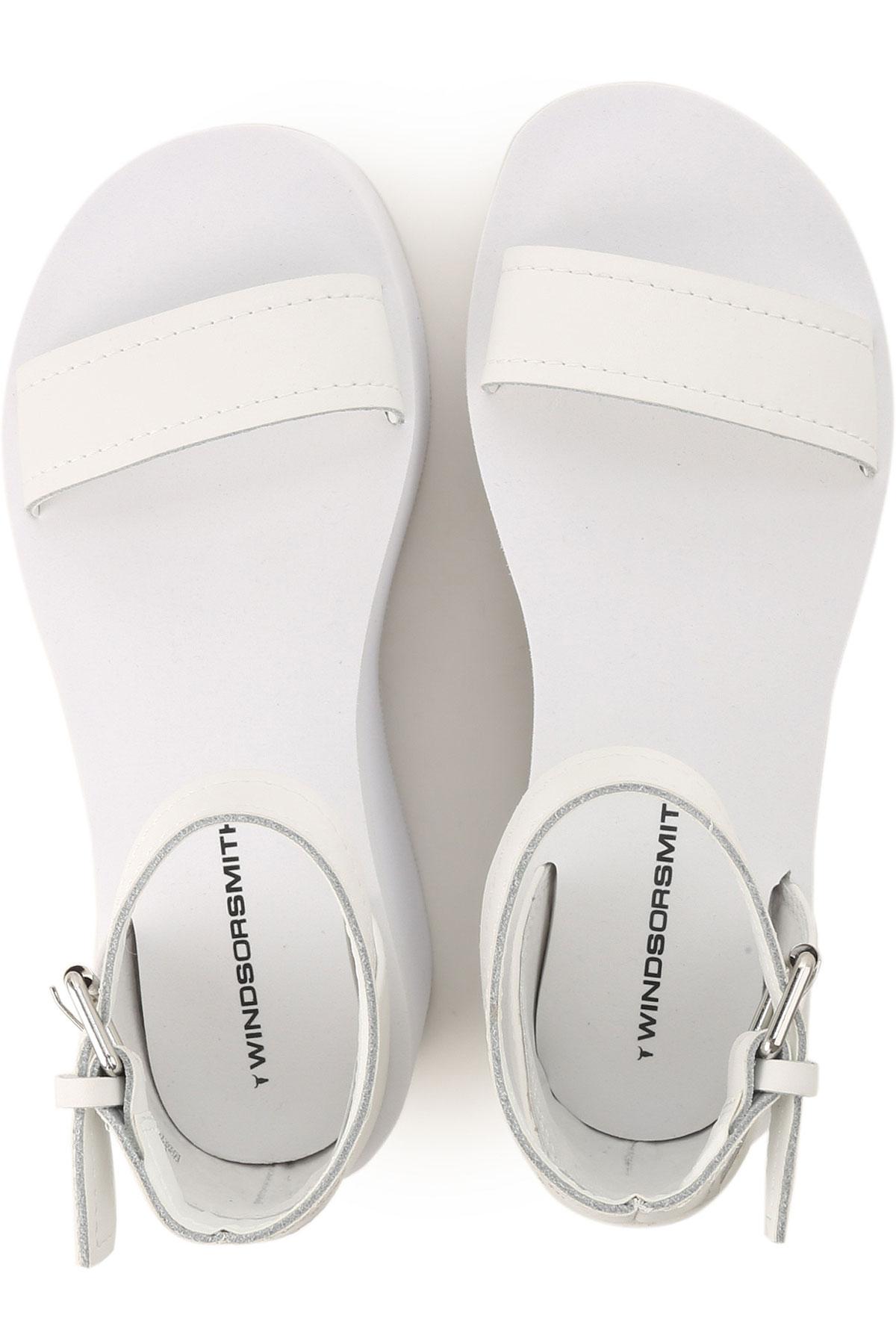 Smith 2019 Zapatos Blanco nbsp; Mujer Windsor verano Para Primavera T1wpq