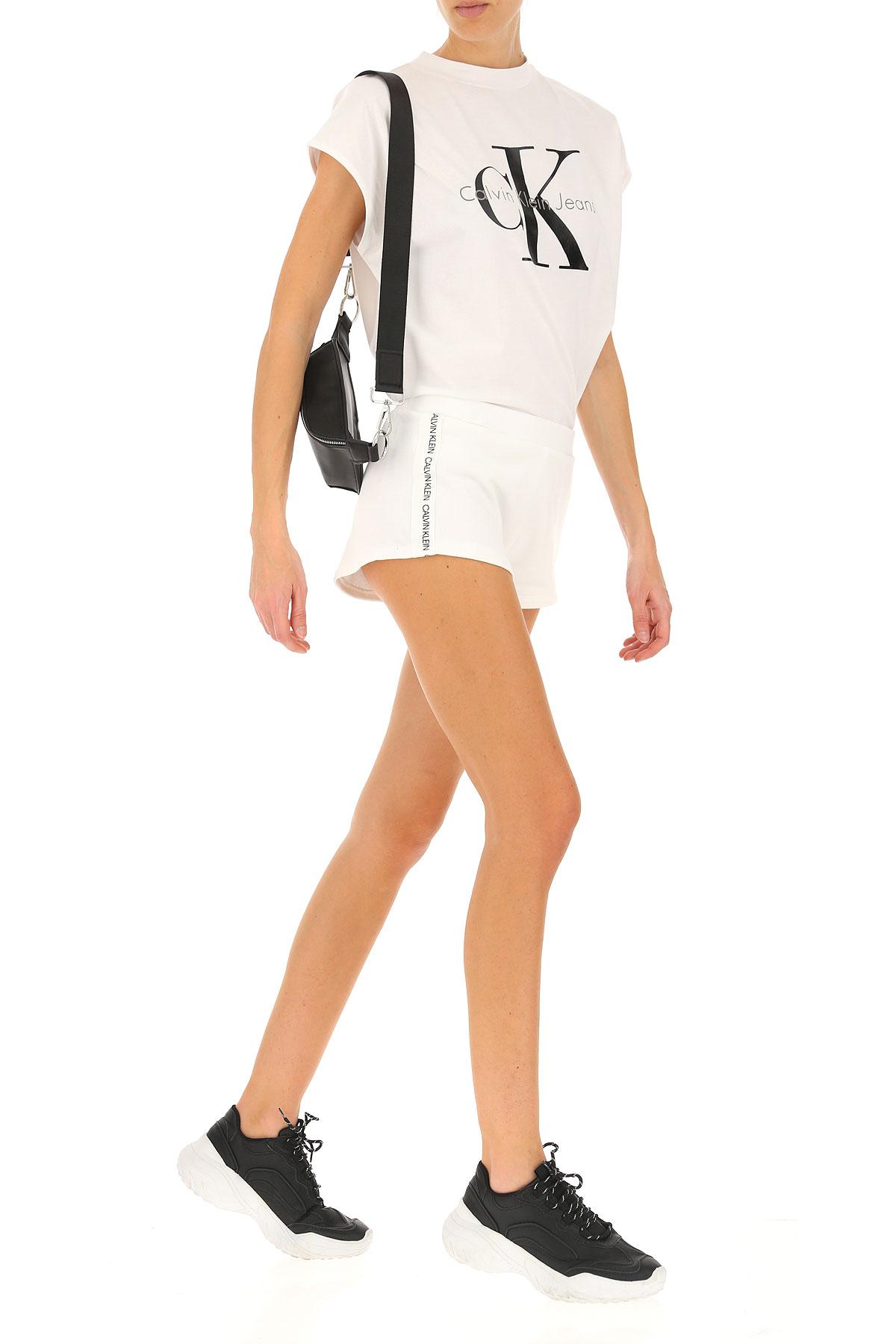 Blanco Mujer 2019 Klein Para Primavera nbsp; Calvin Ropa verano ZB0tTq