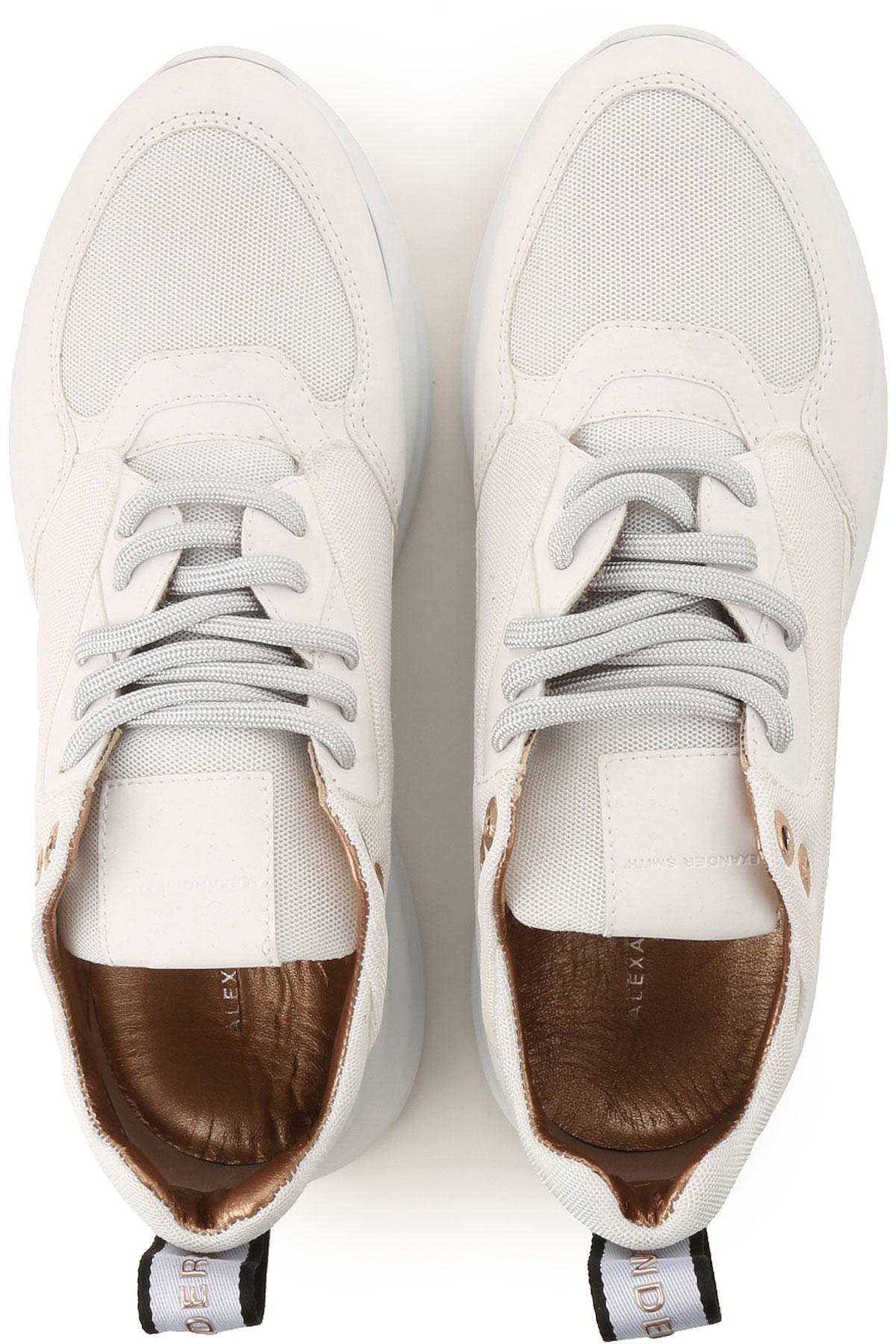 Zapatos Alexander 2019 Para verano Cobre Mujer Smith Blanco Primavera 775Aqa4Zwx