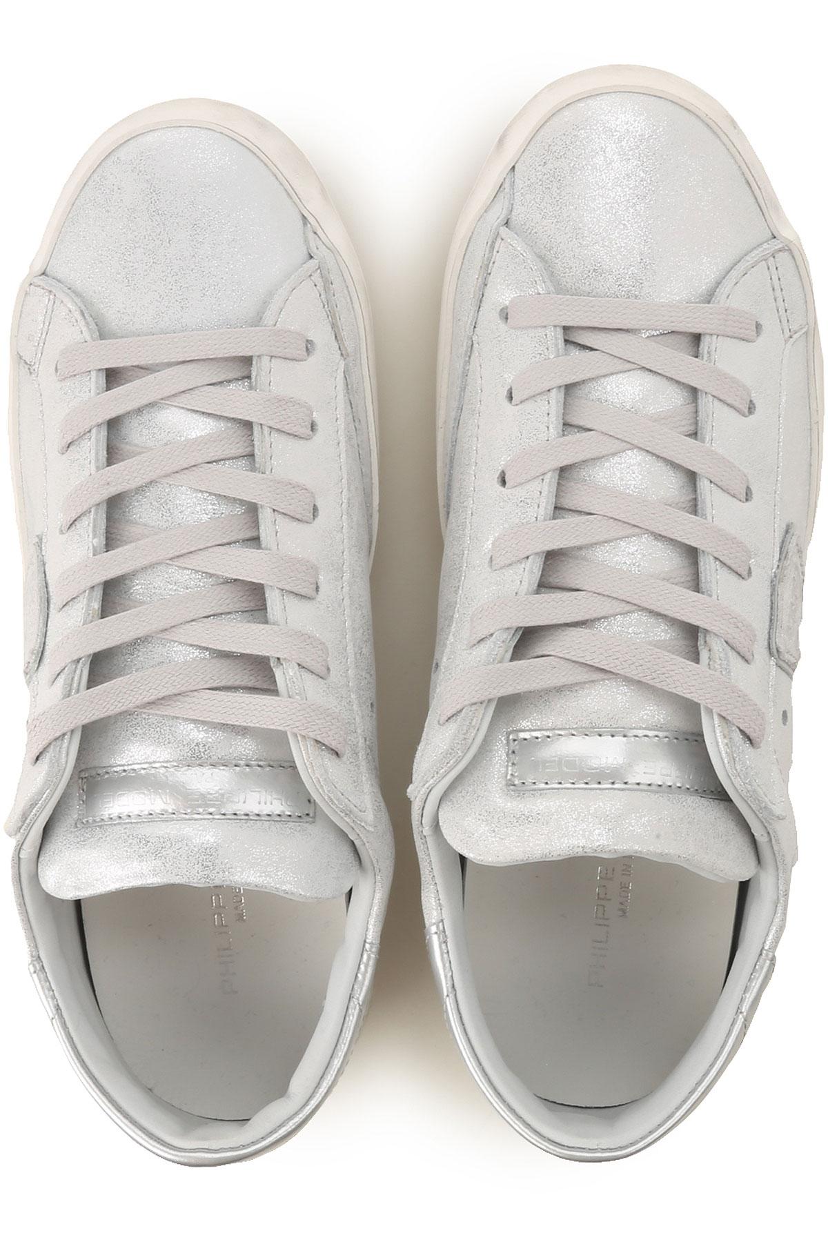 nbsp; Zapatos 2019 Primavera Para Philippe Mujer Model Plata verano SHqAnw8C