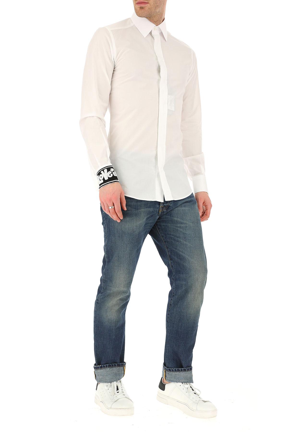 Dolce amp; Para Gabbana 2019 Blanco verano Hombres Primavera Ropa nbsp; vwv6xyrf7q