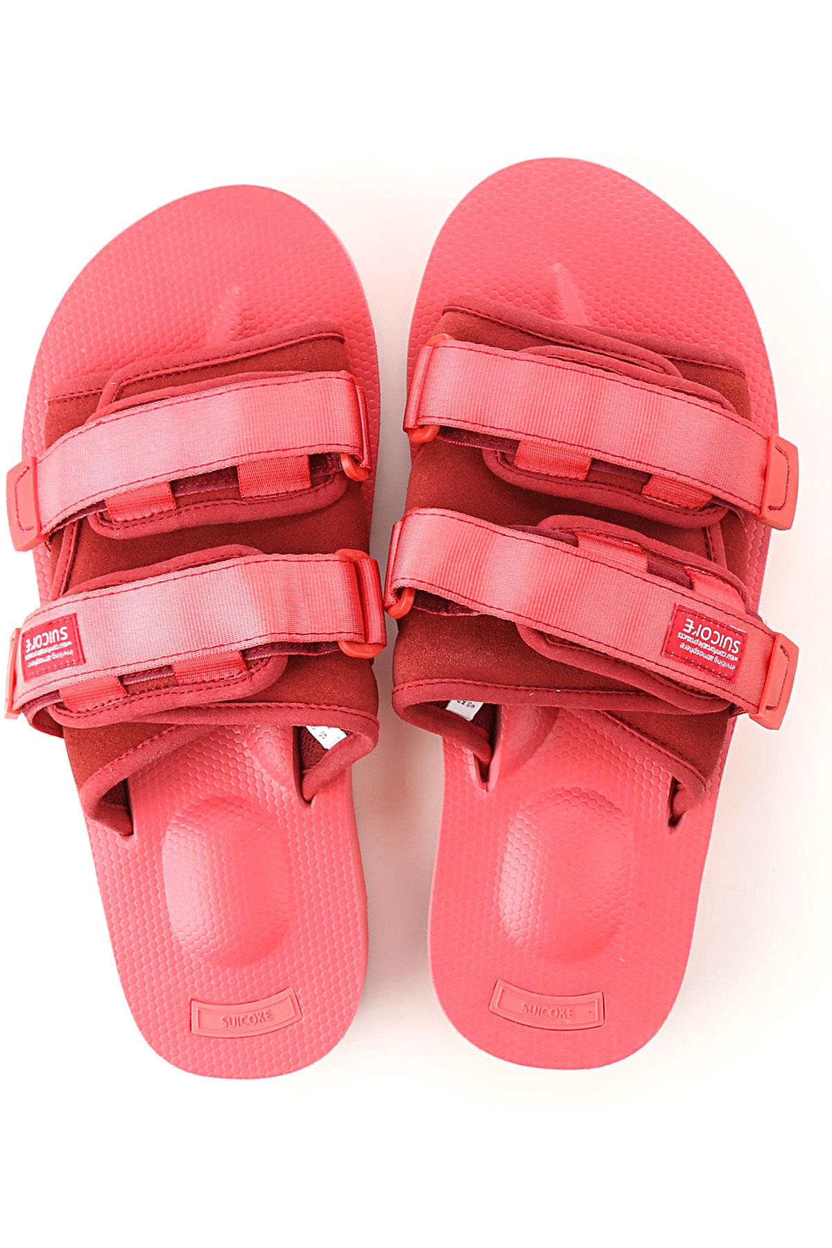 nbsp; Primavera Suicoke Zapatos verano Para 2019 Hombres Rojo F0Zf0w
