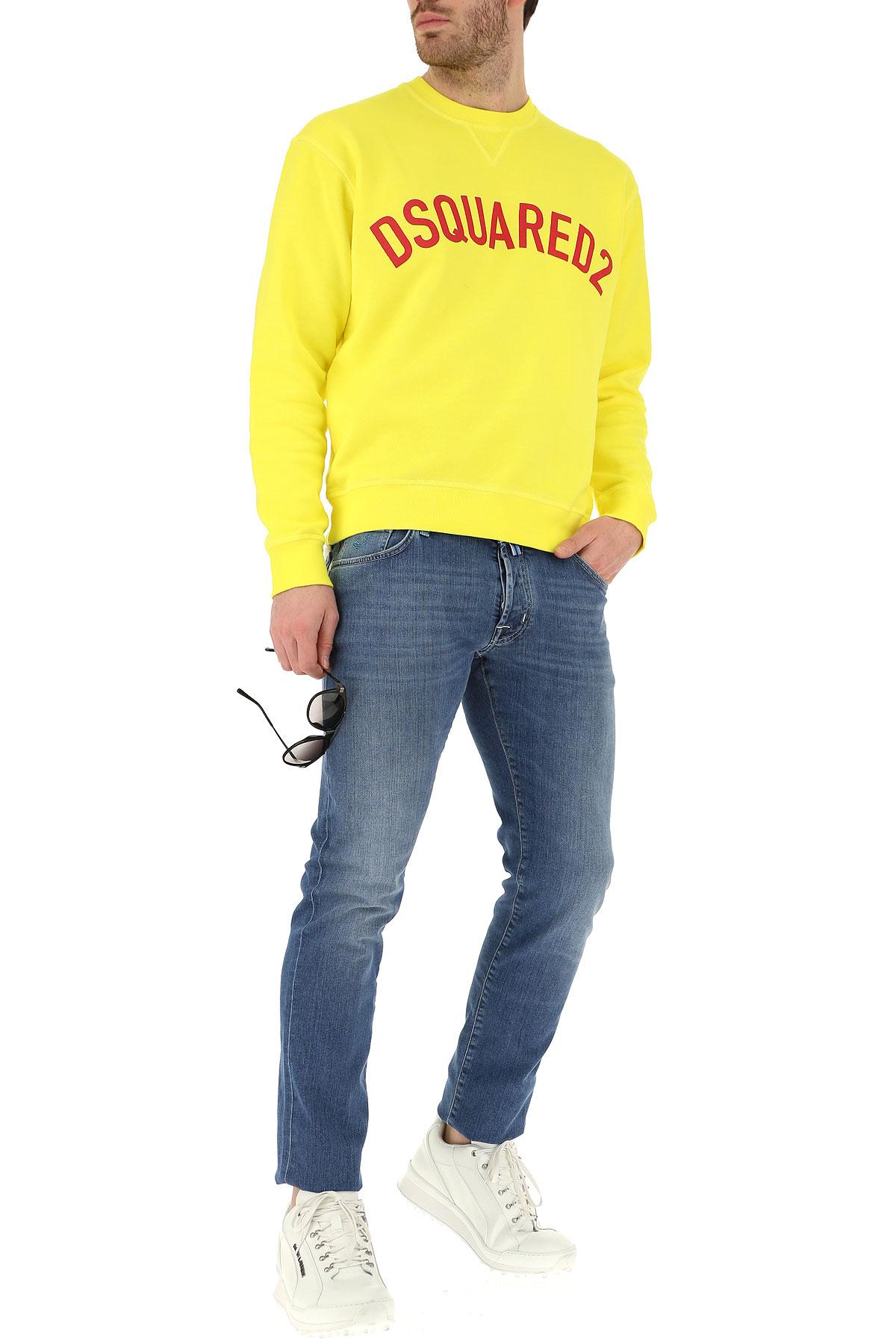 Ropa Amarillo Para Dsquared Rojo Hombres Primavera 2019 verano AYxwqdB
