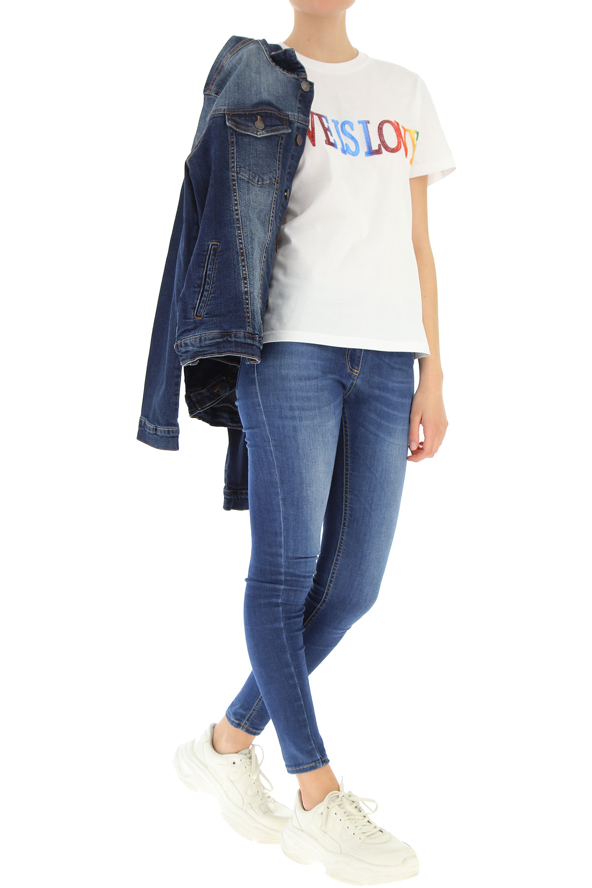 Ferretti Mujer Ropa Primavera nbsp; Alberta verano Blanco Para 2019 t5dpq