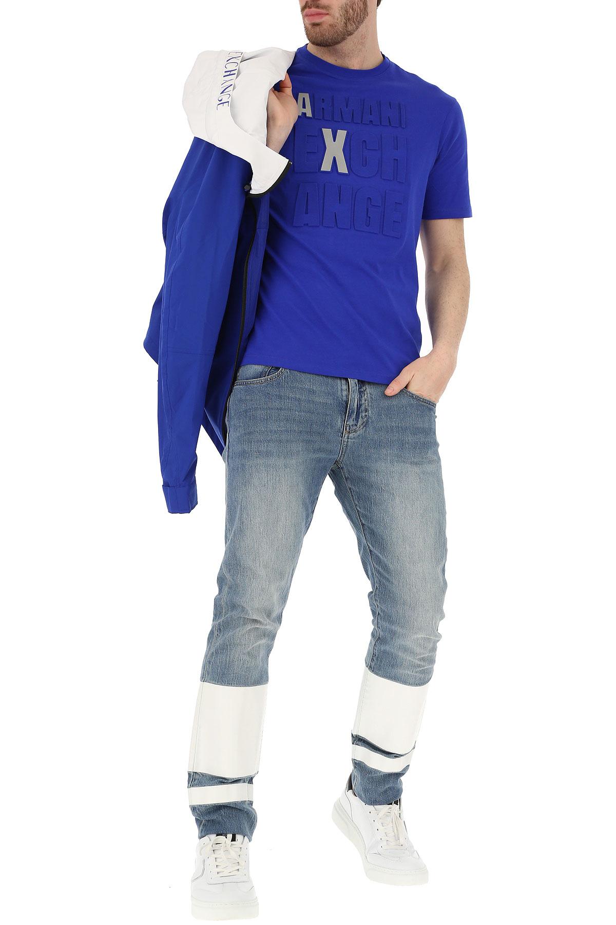 Emporio nbsp; Hombres Cobalto Primavera 2019 Ropa verano Azul Para Armani ZFP7qrZ