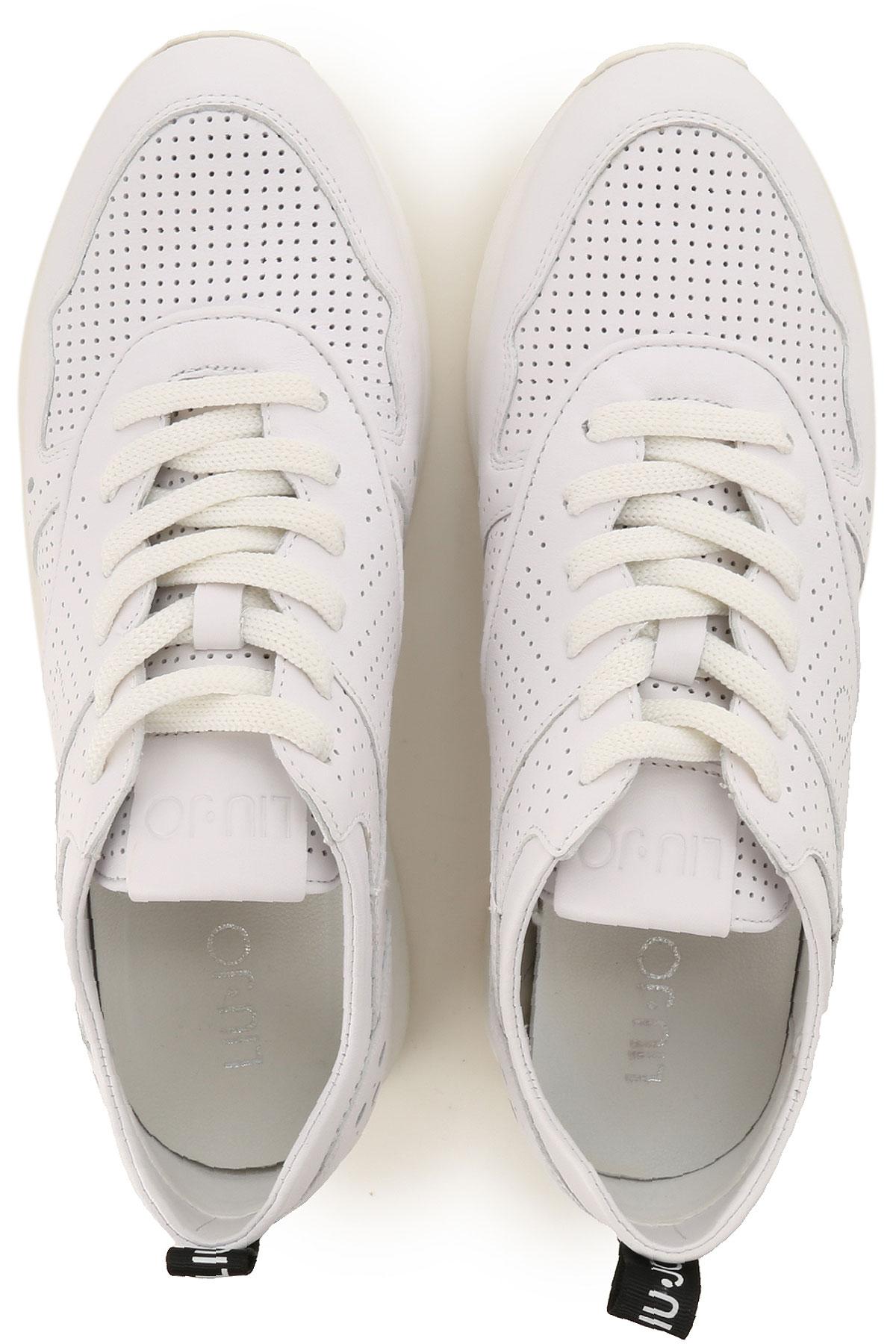 Blanco Mujer Primavera verano nbsp; Liu Para Jo Zapatos 2019 xtwqOa0Hn