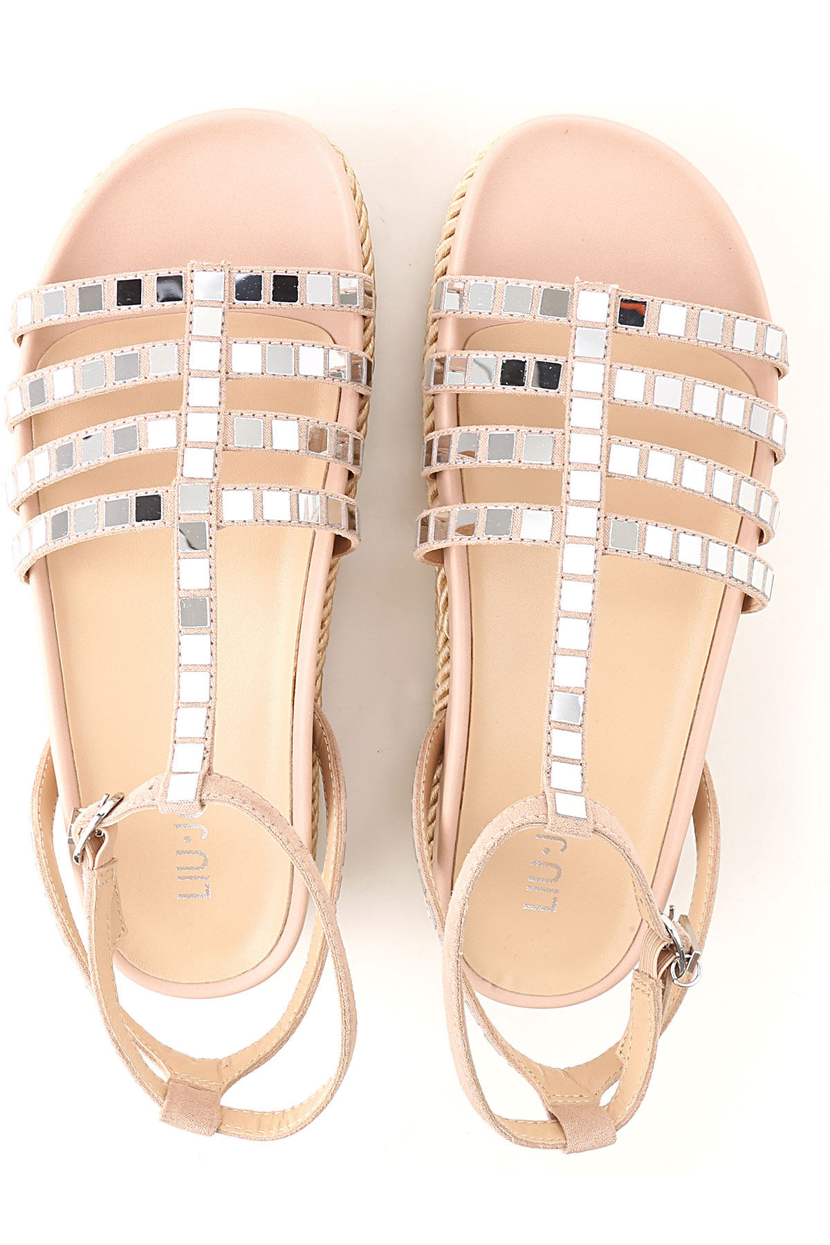 Mujer Rosa Plata 2019 Suave Primavera Liu Para verano Jo Zapatos q6U0wtA