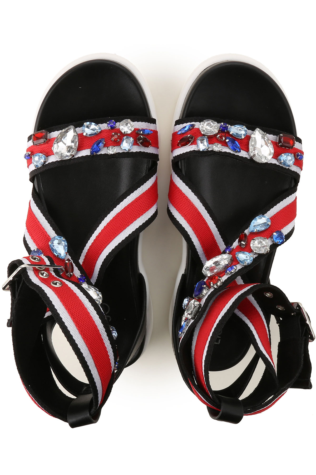 Para Zapatos Negro Mujer Primavera nbsp;blanco verano Rojo 2019 Liu Jo O4HqWAc6