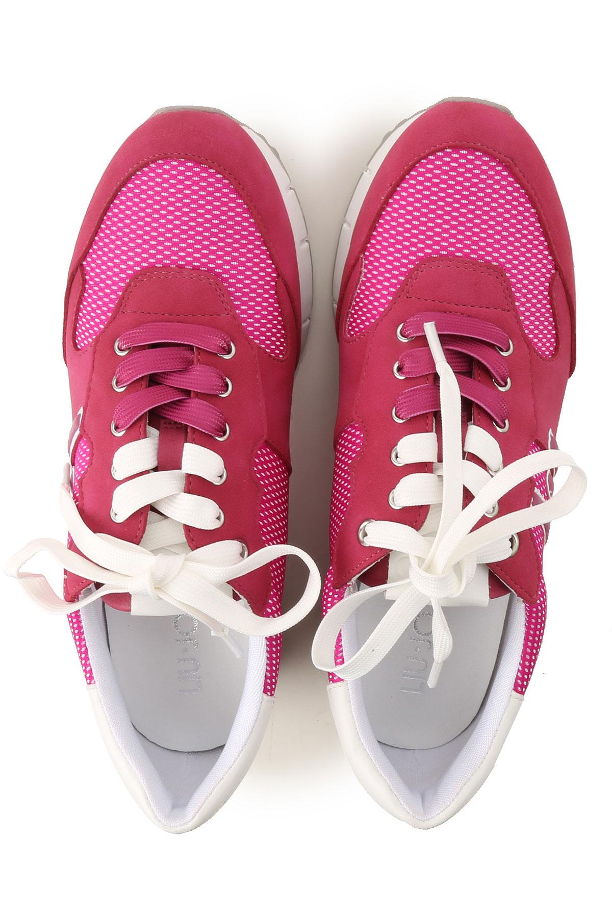 Liu Zapatos Geraneo Rosa Jo Para 2019 Blanco Primavera verano Mujer Fluorescente wwqSHaB