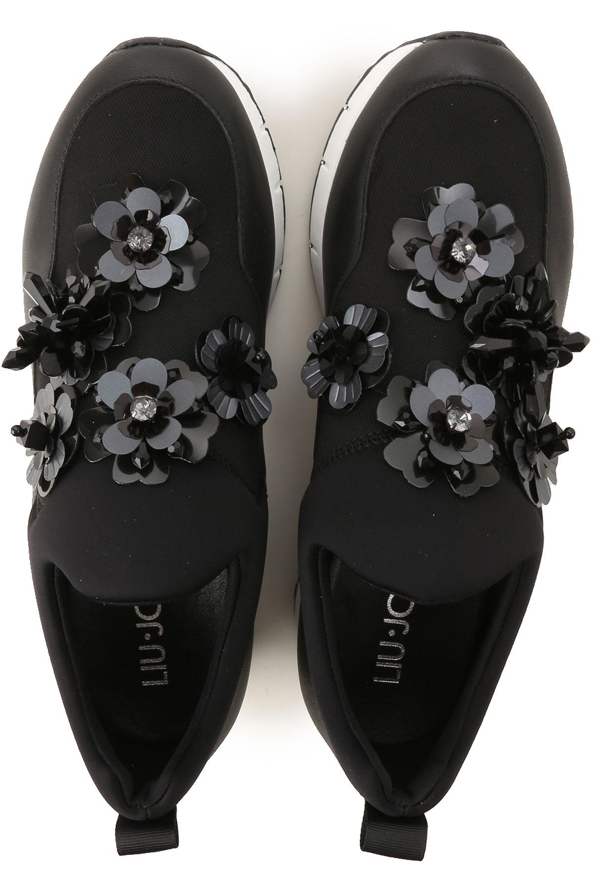 Jo Zapatos Mujer Blanco Para verano Primavera Liu 2019 Negro 61dxpqd