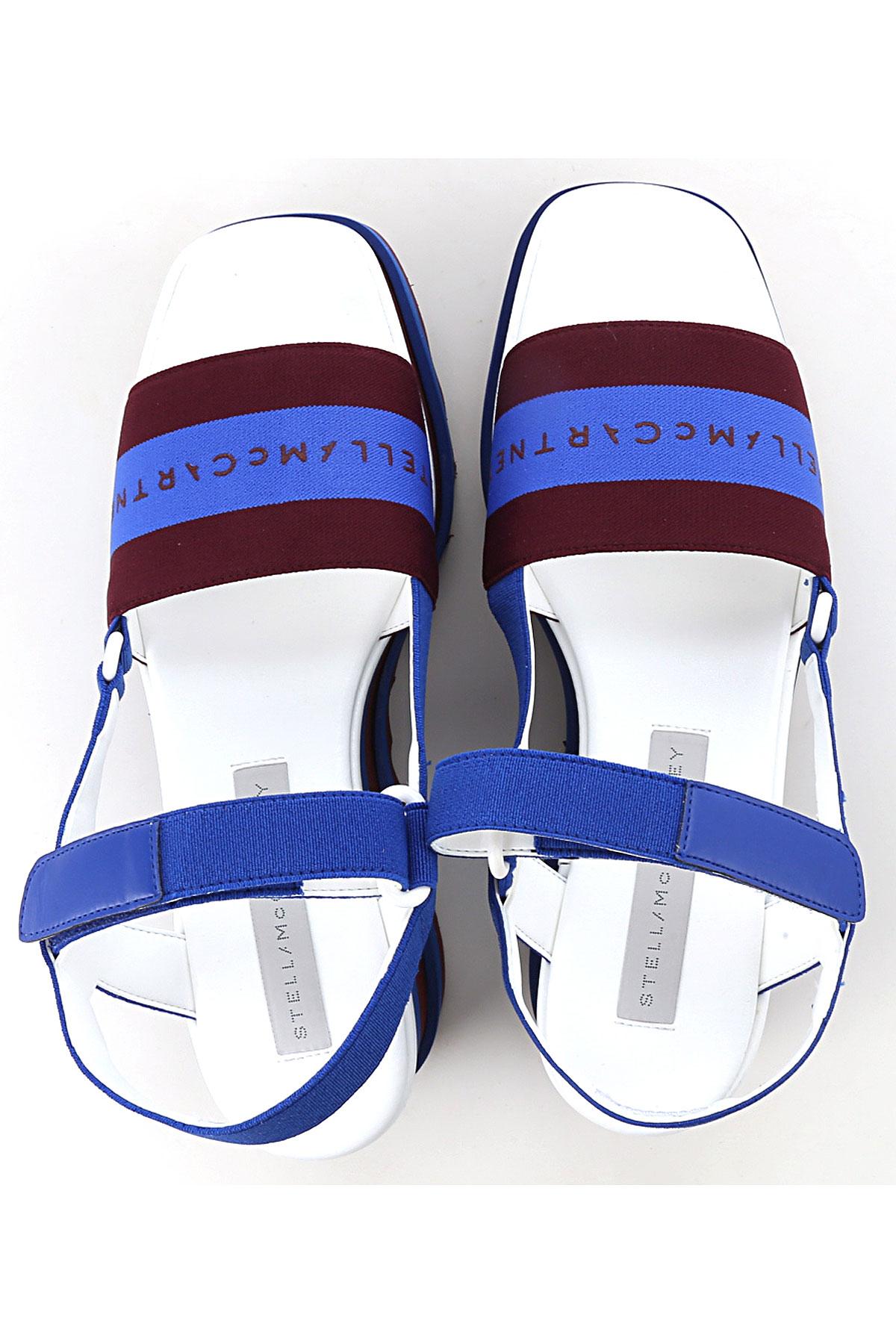 Primavera verano Burdeos Bluette Para Stella Mujer Zapatos Mccartney 2019 ZnUxIaXp