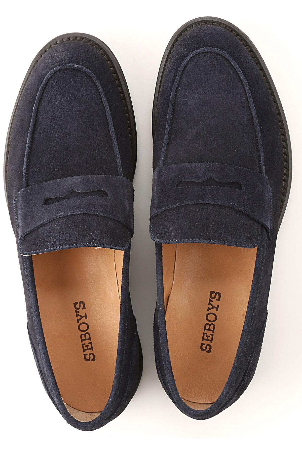 Azul verano Seboys nbsp; Para 2019 Oscuro Zapatos Primavera Hombres Marino TT6xZqS