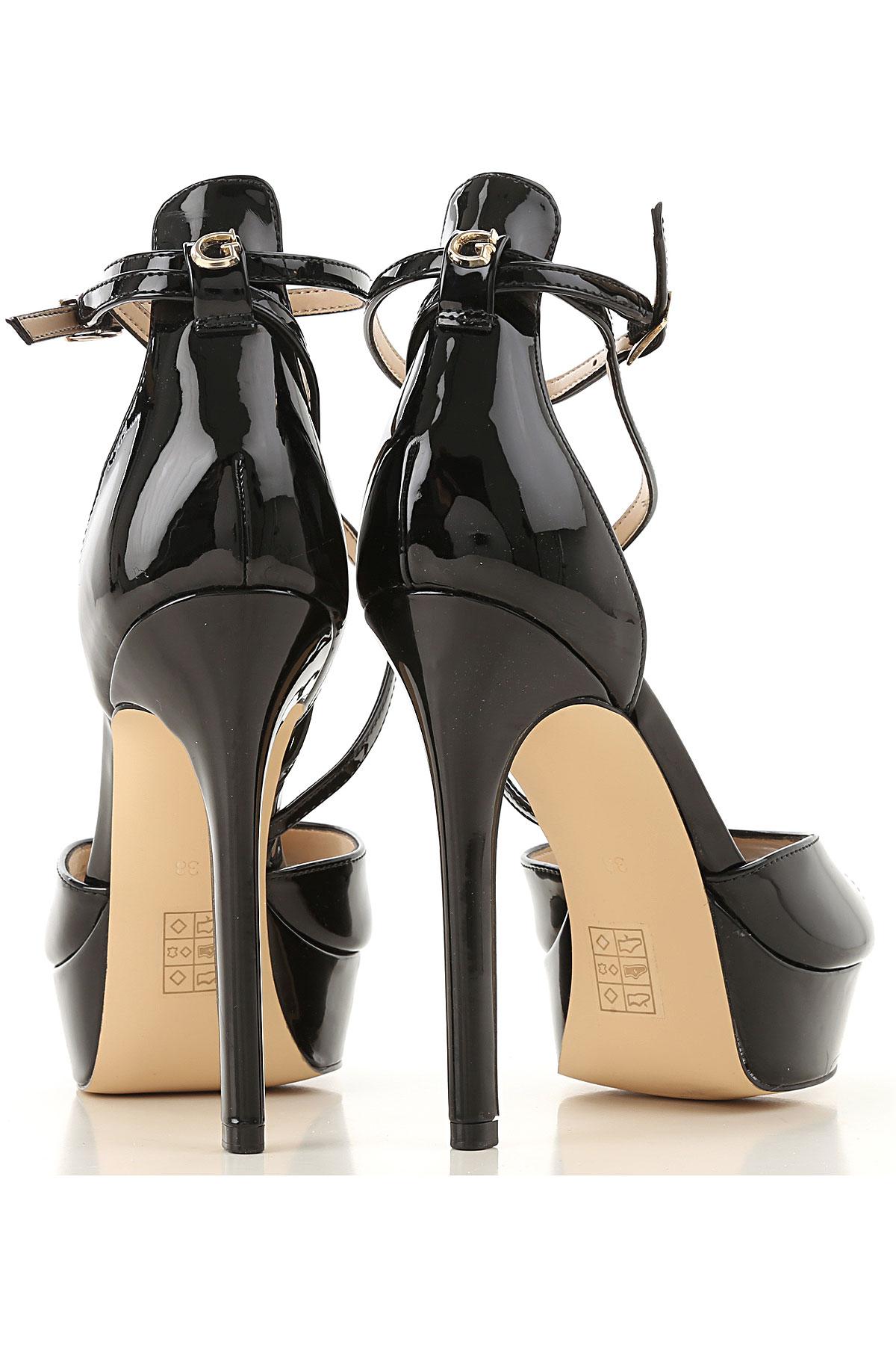 Nbsp; 2019 Pp8rb6q Mujer Guess Primavera Zapatos Para Verano Negro thxsQrdCB