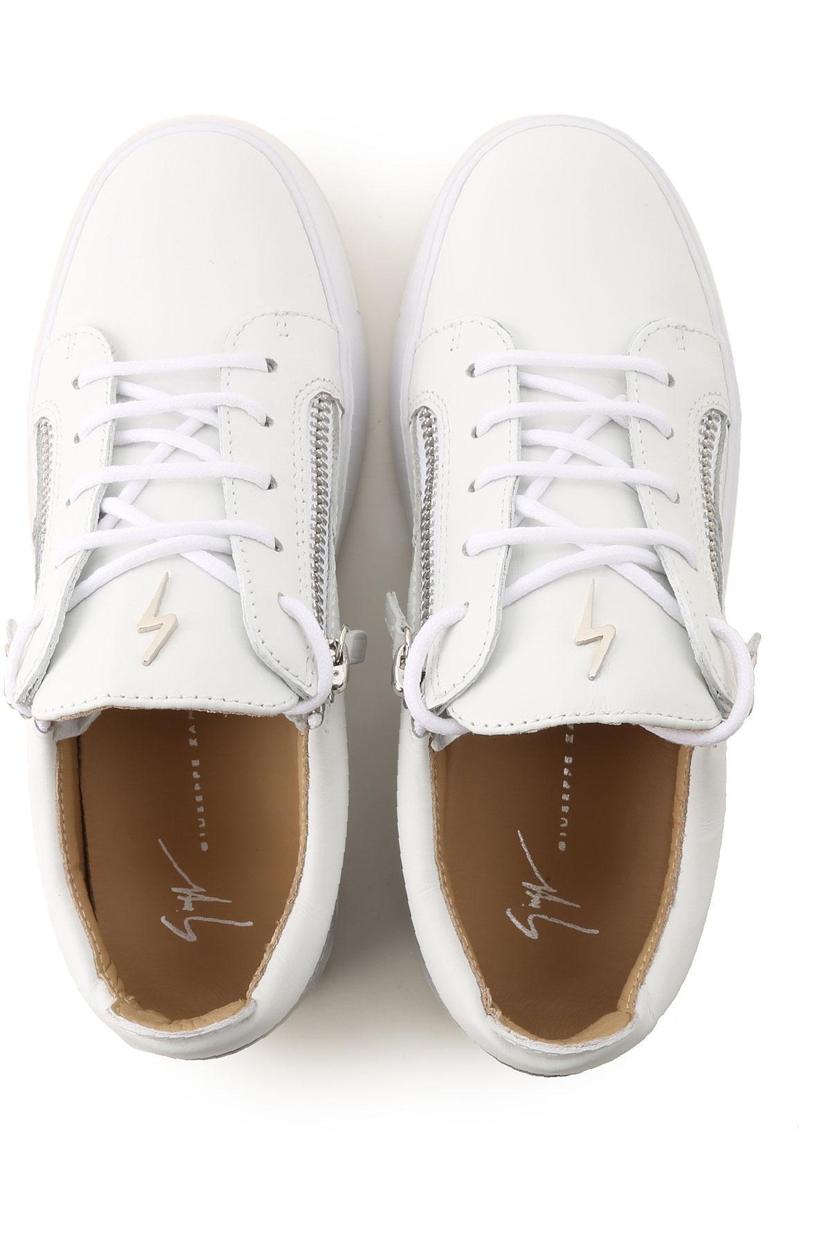 Primavera Blanco Zapatos verano 2019 nbsp; Giuseppe Zanotti Mujer Para UCwI64