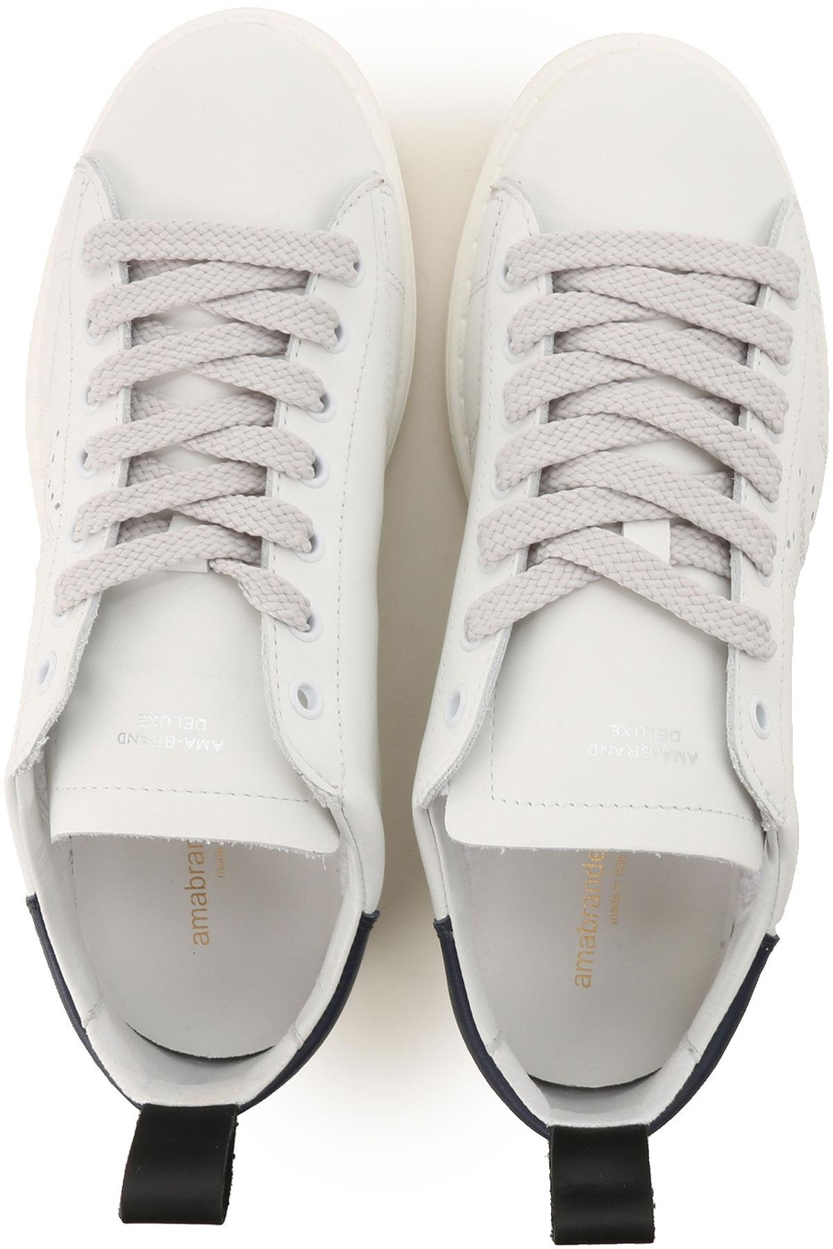 Mujer Ama Primavera Para 2019 verano Blanco Brand Azul Zapatos AwwqftPg
