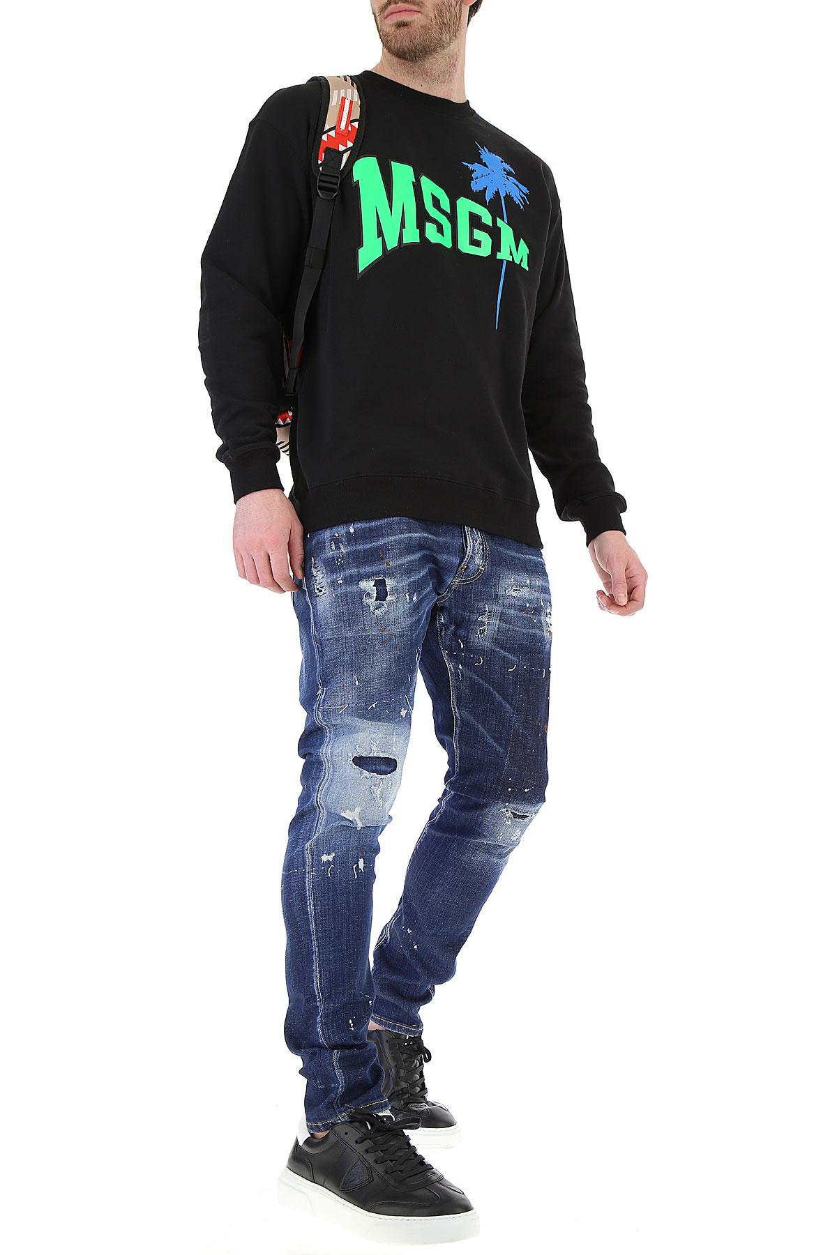 Verde verano 2019 Msgm Negro Ropa nbsp;azul Para Fluorescente Primavera Hombres 0xIvwPUqT