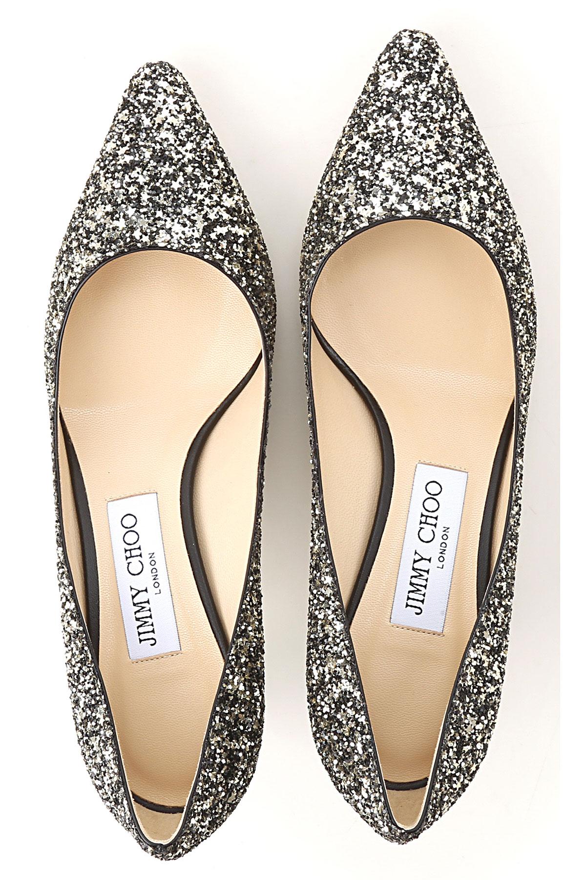 2019 Mujer verano dorado Brillantoso Jimmy Choo Para Zapatos Oro Negro Primavera vcAWpqY8f