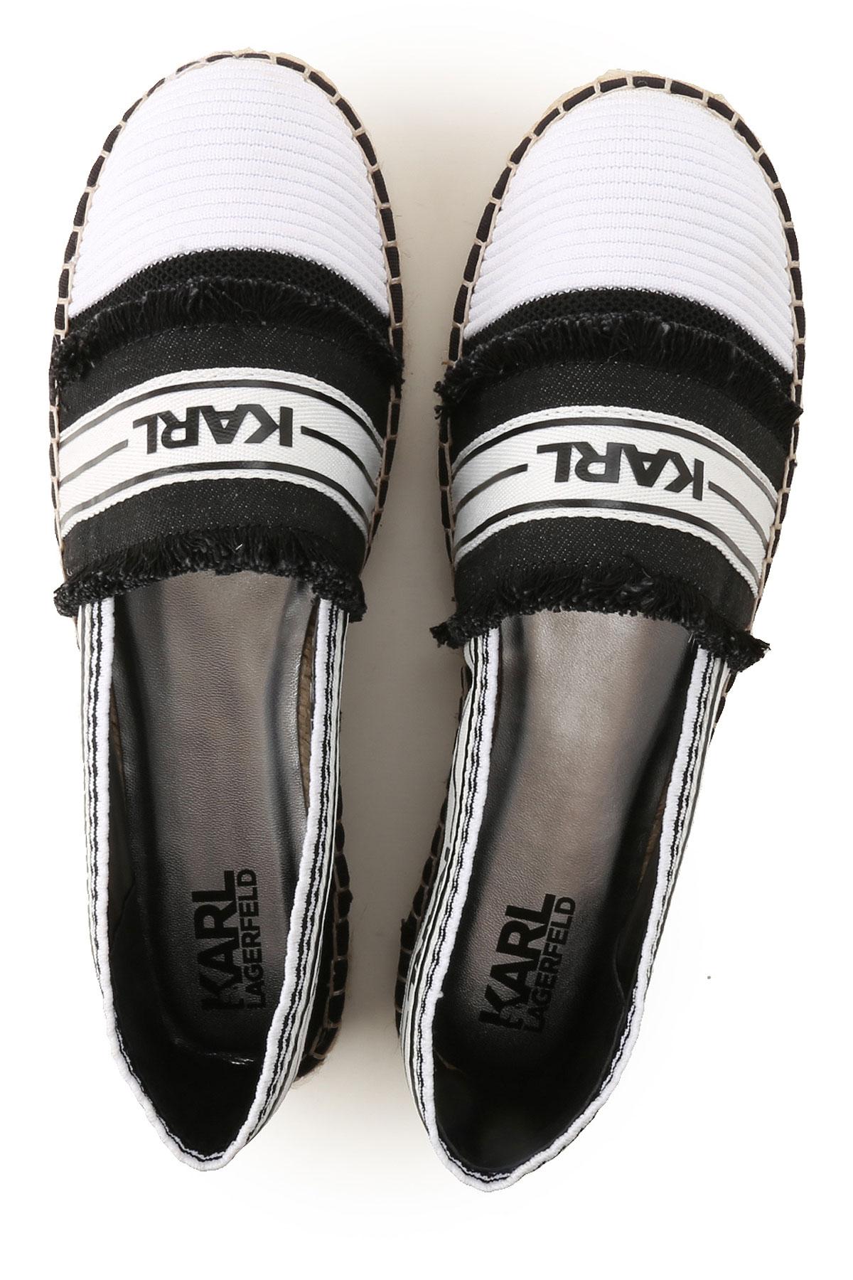 Lagerfeld Zapatos Para Karl Primavera Mujer verano nbsp; 2019 Lona 64wHqRHOy