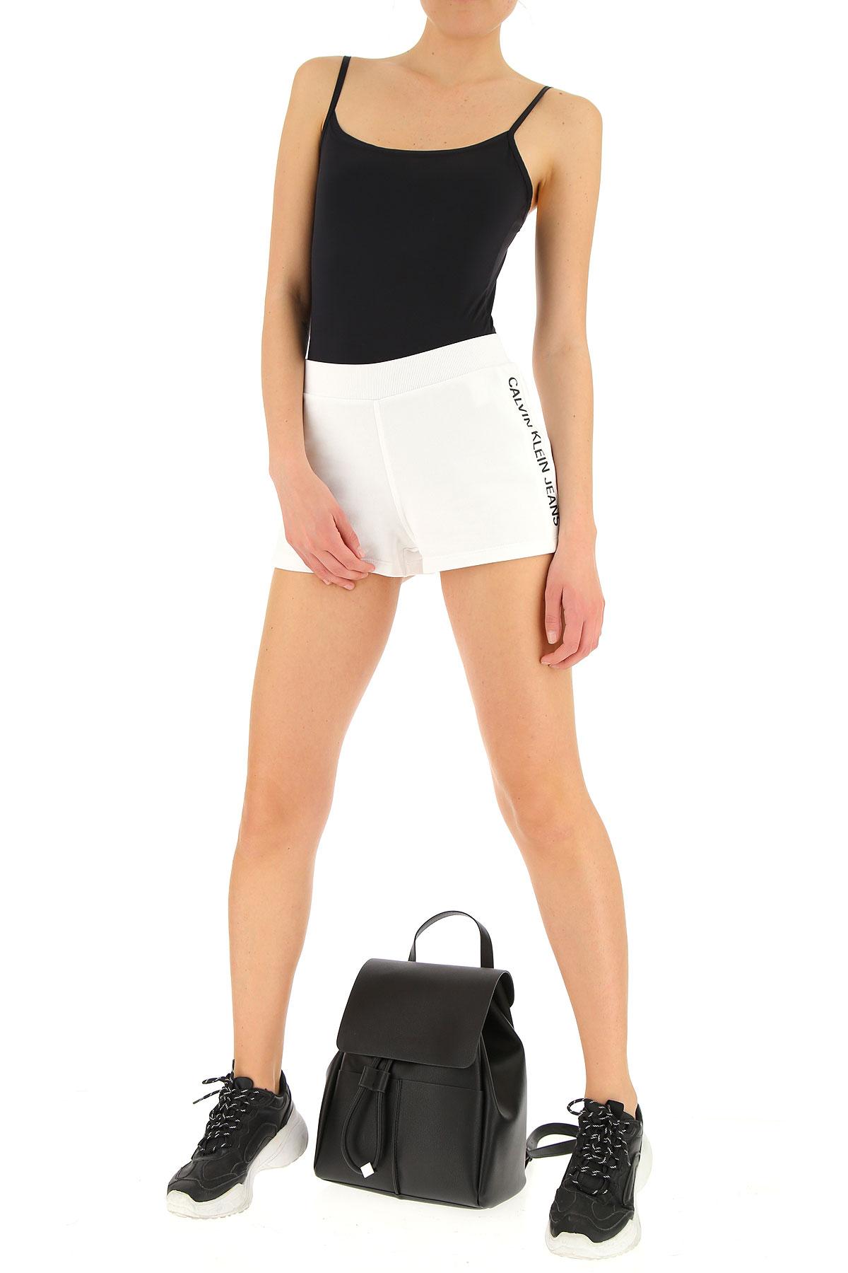 Primavera Ropa Negro 2019 Mujer Calvin Para Klein Blanco verano IHqwxzC