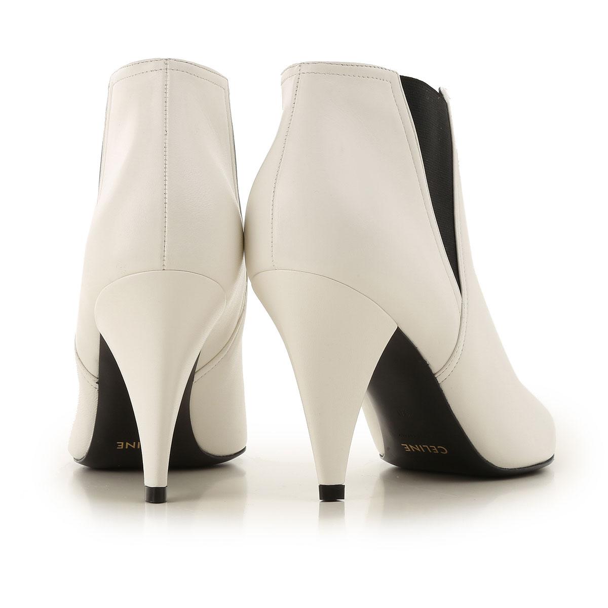 Zapatos Para 2019 Blanco Celine Primavera Mujer Negro verano gUqBRR1cw