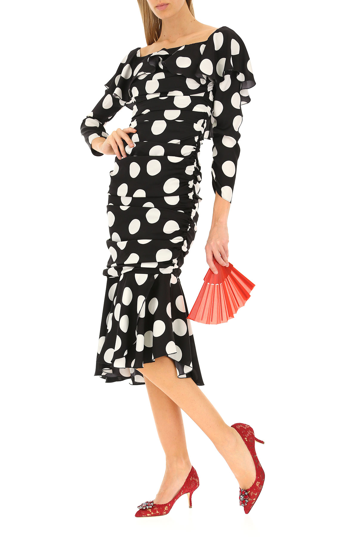 Para Primavera verano amp; Ropa Mujer Blanco Gabbana Negro Dolce 2019 tXwaq