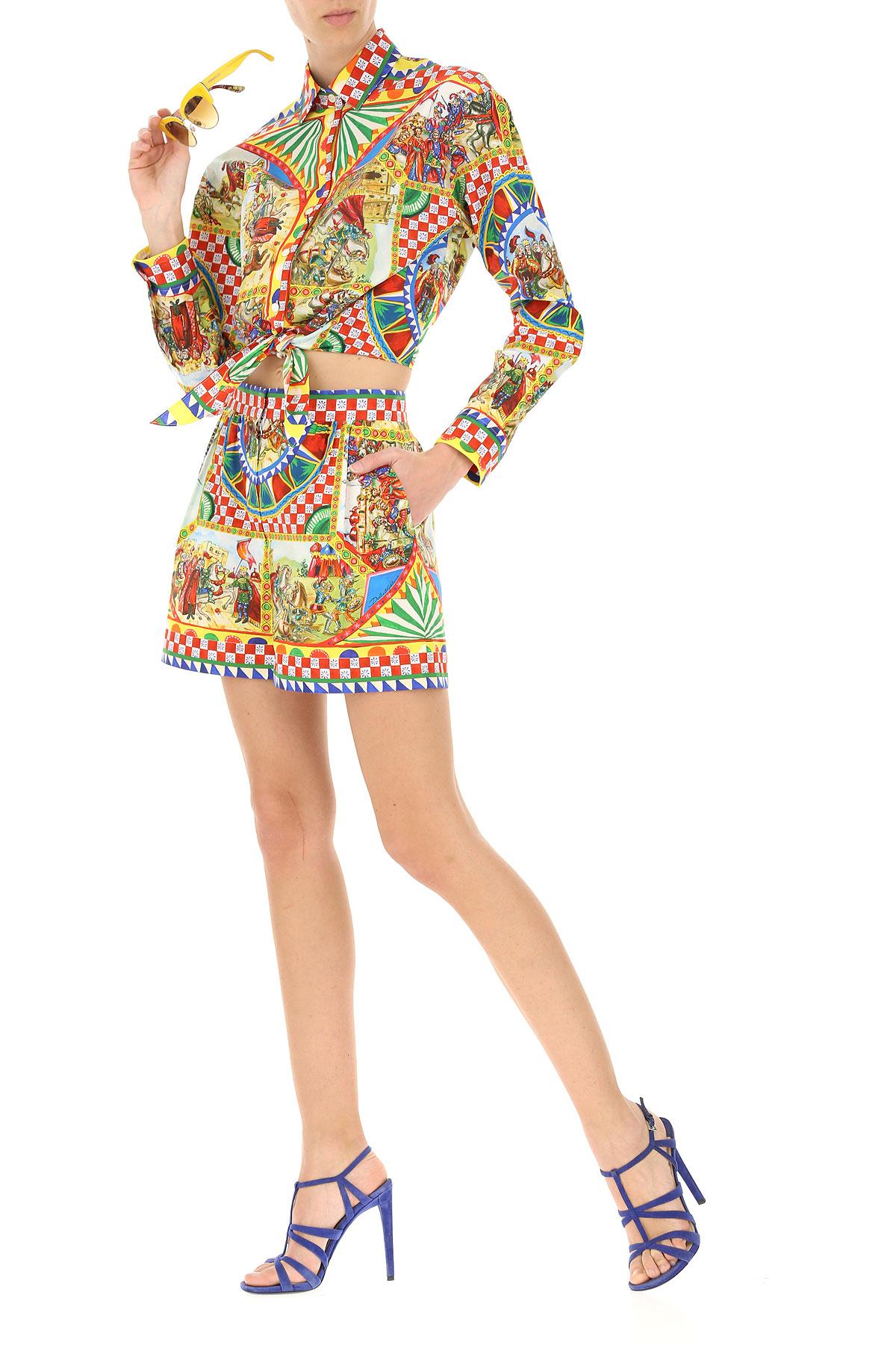 nbsp; Primavera Mujer Gabbana amp; 2019 Para verano Dolce Multicolor Ropa xSCzqnSp