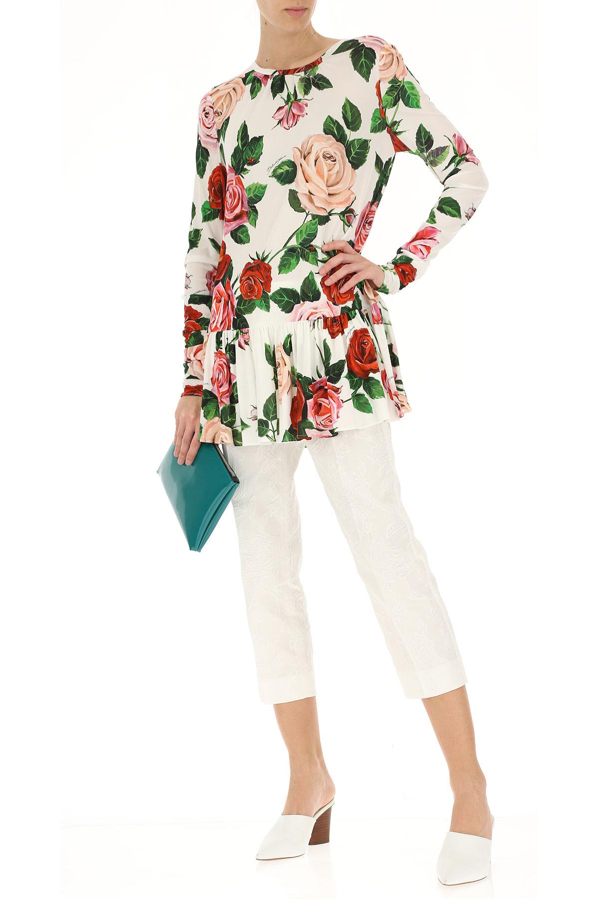 Ropa Dolce amp; Mujer Blanco Gabbana Para verano 2019 Multicolor Primavera rEgxgwfd