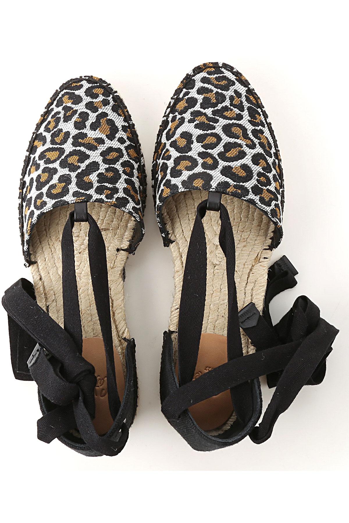 Zapatos 2019 Negro Castaner Primavera verano Mujer Leopardo Para UCnqvwxd